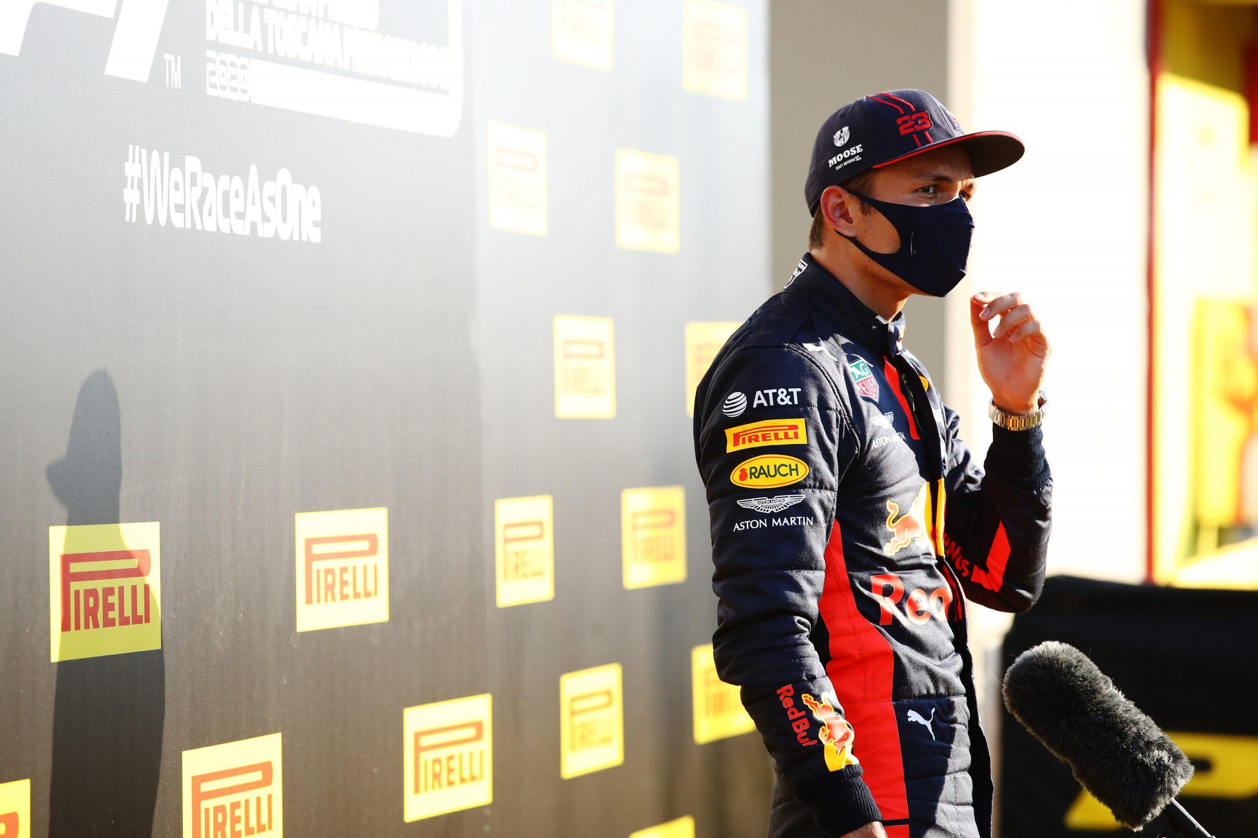 podium-alex-albon-mugello-f1