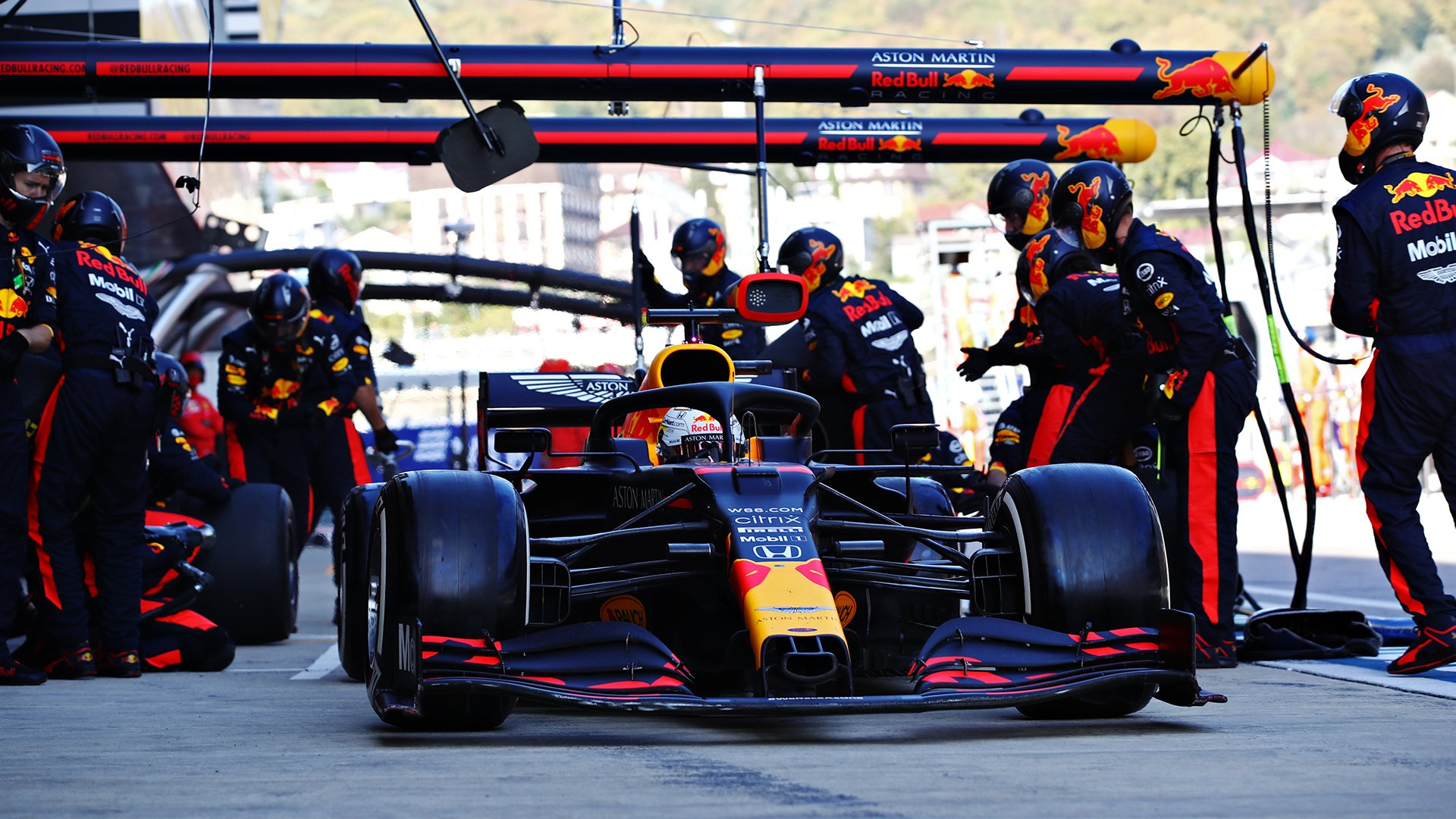 arrêt-stand-red-bull-f1