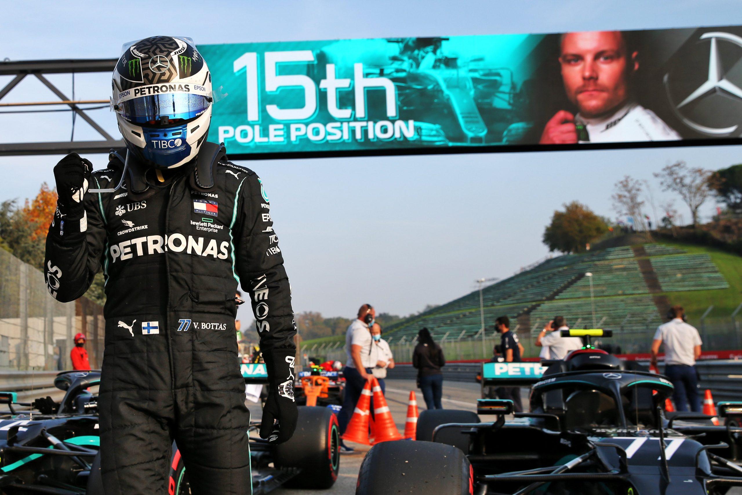 F1 - La grille de départ du GP d'Emilie-Romagne (Imola)