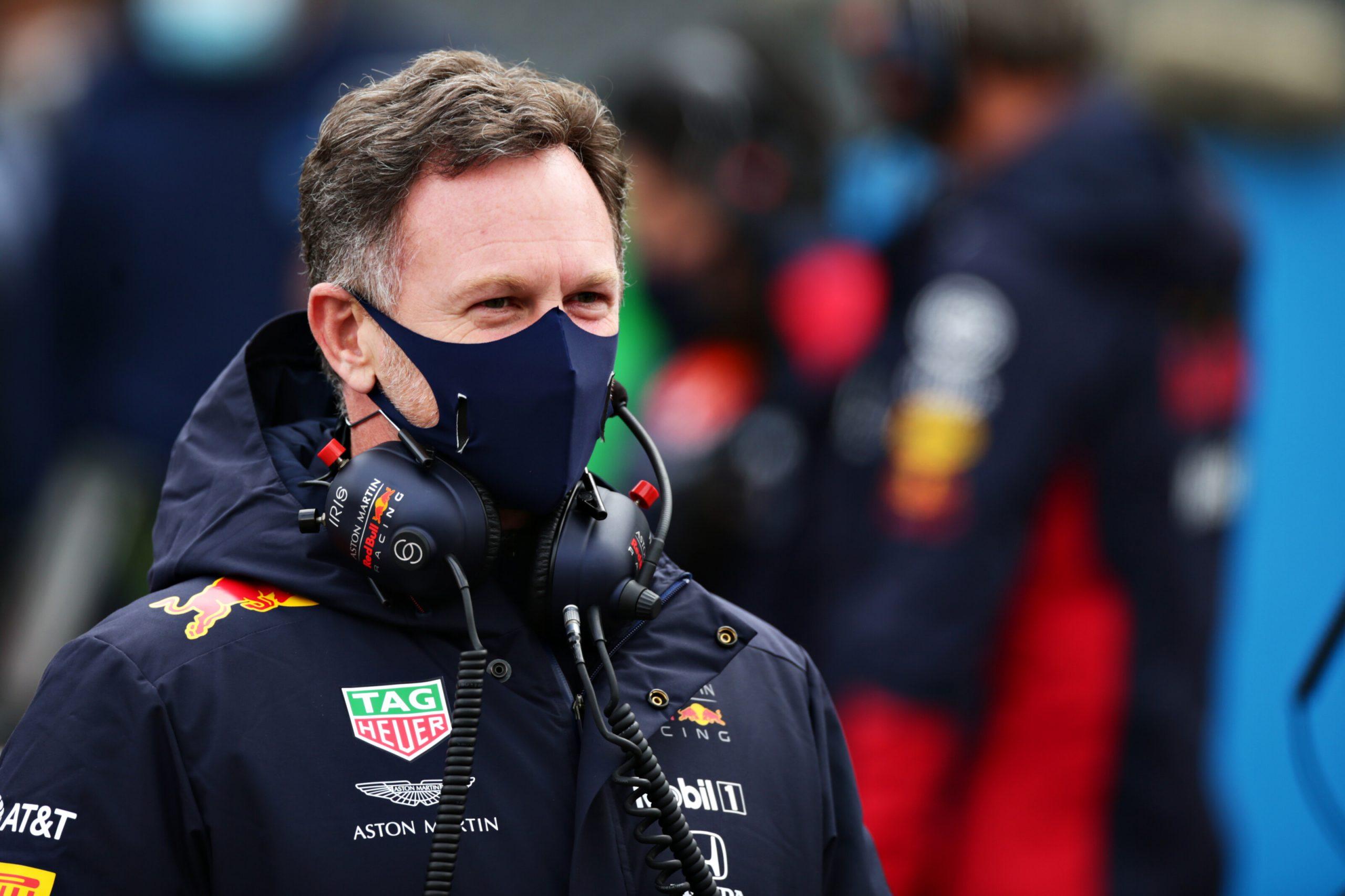 """F1 - Horner pense que les trois prochaines courses seront """"intéressantes"""" pour Red Bull"""