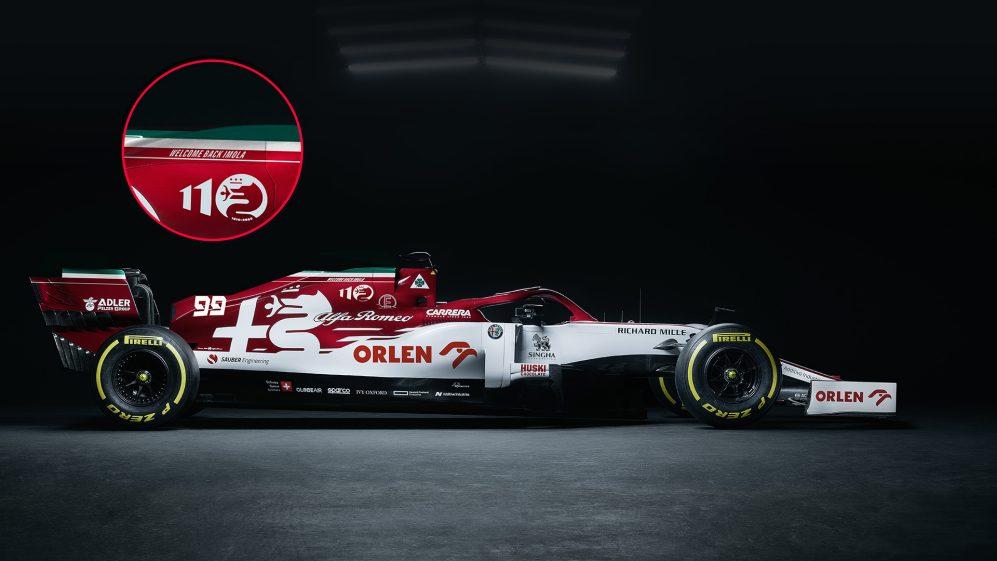 F1 - Alfa Romeo dévoile sa livrée spéciale pour Imola
