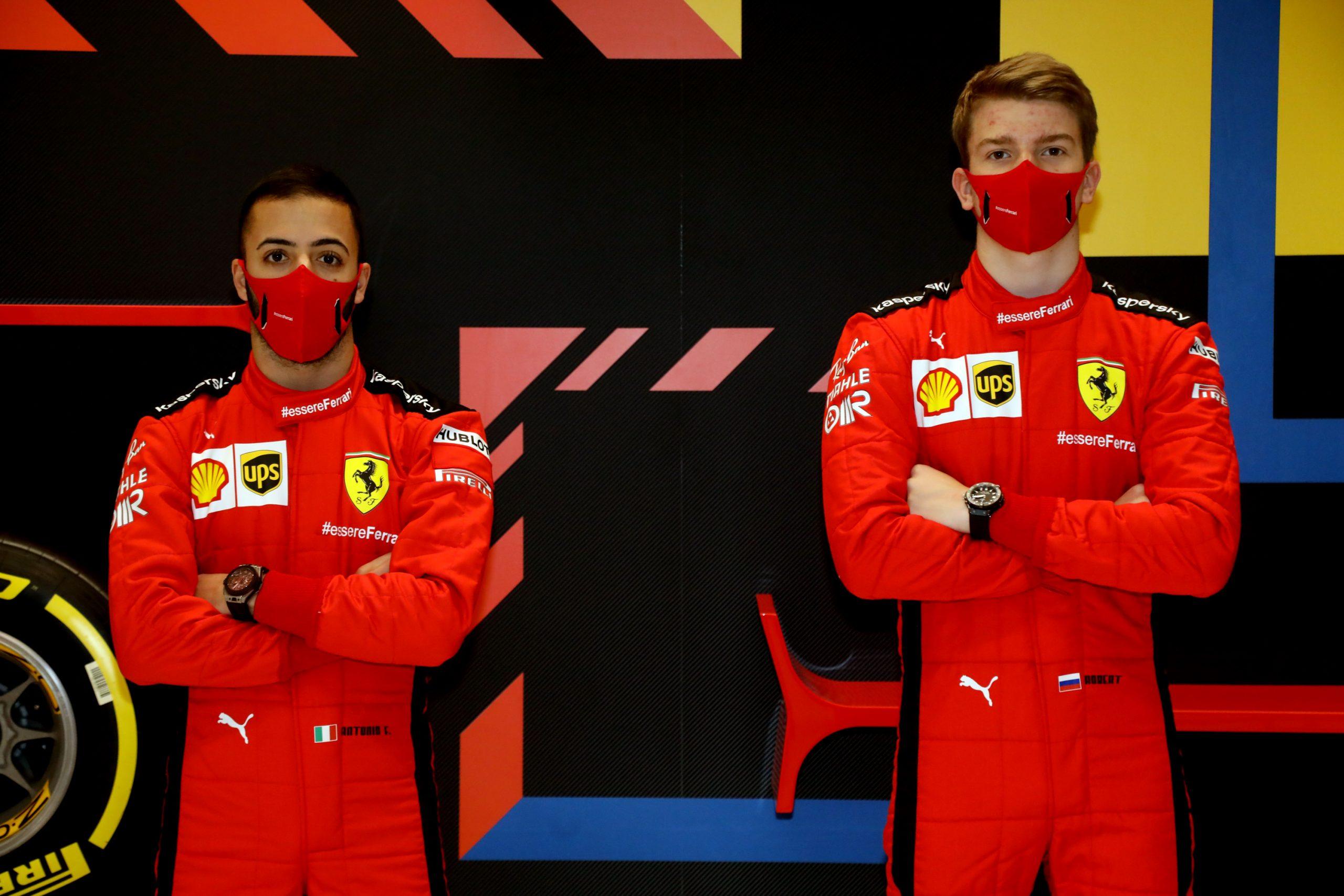 Ferrari confirme ses pilotes pour les tests d'Abou Dhabi - La Scuderia Ferrari a confirmé les noms de ses deux pilotes qui seront en piste le 15 décembre pour les tests post-saison à Abou Dhabi