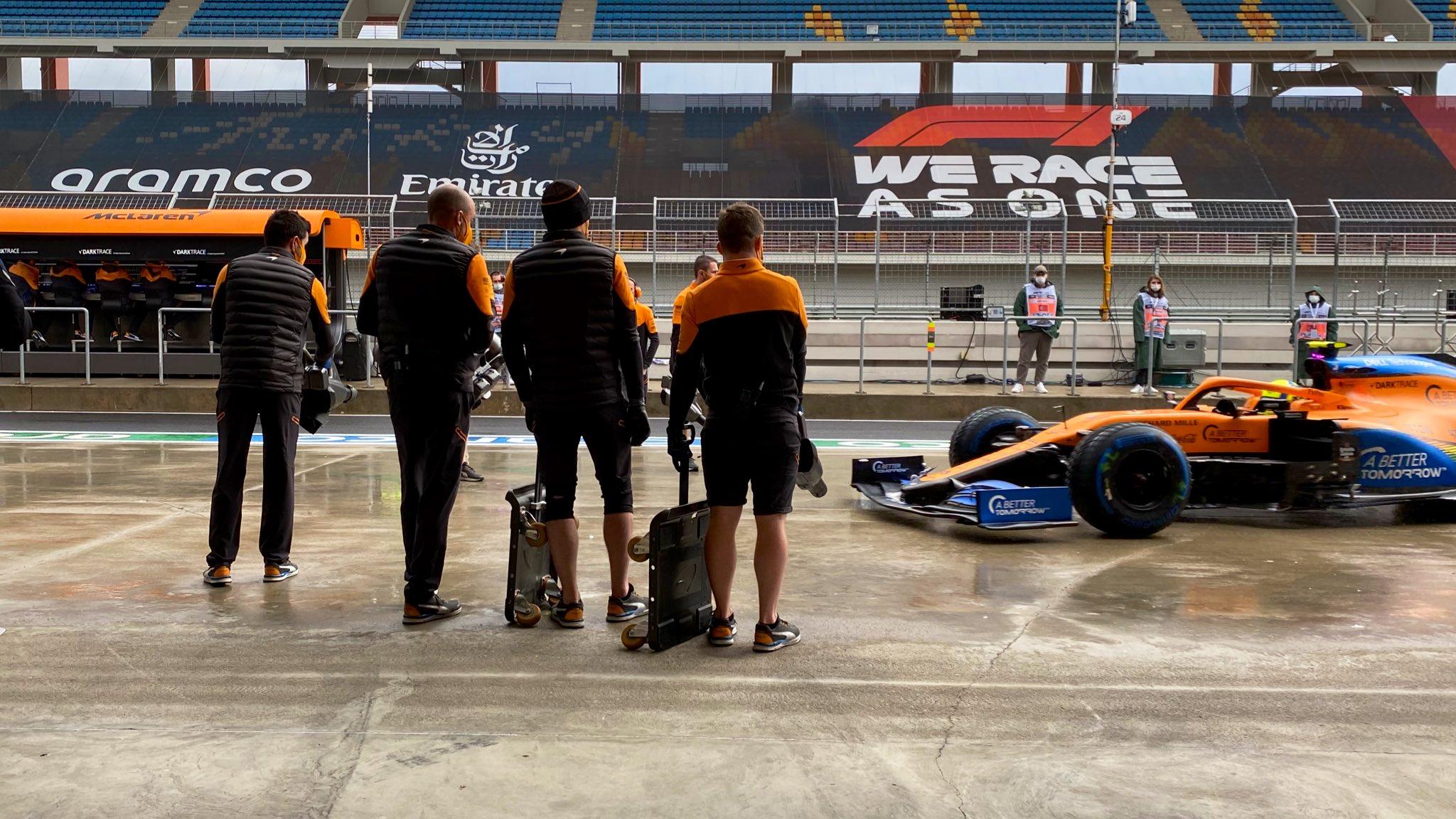 F1 - McLaren regrette qu'une erreur stratégique ait couté la Q3 à ses pilotes