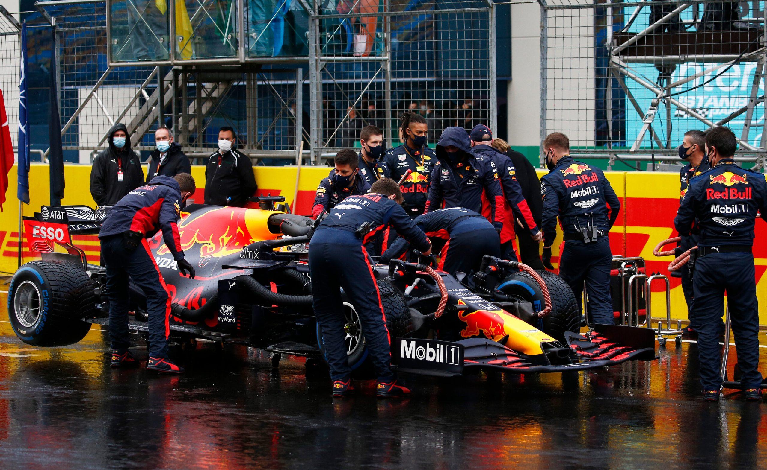 Une erreur de procédure de départ sur les Red Bull à Istanbul ? 1