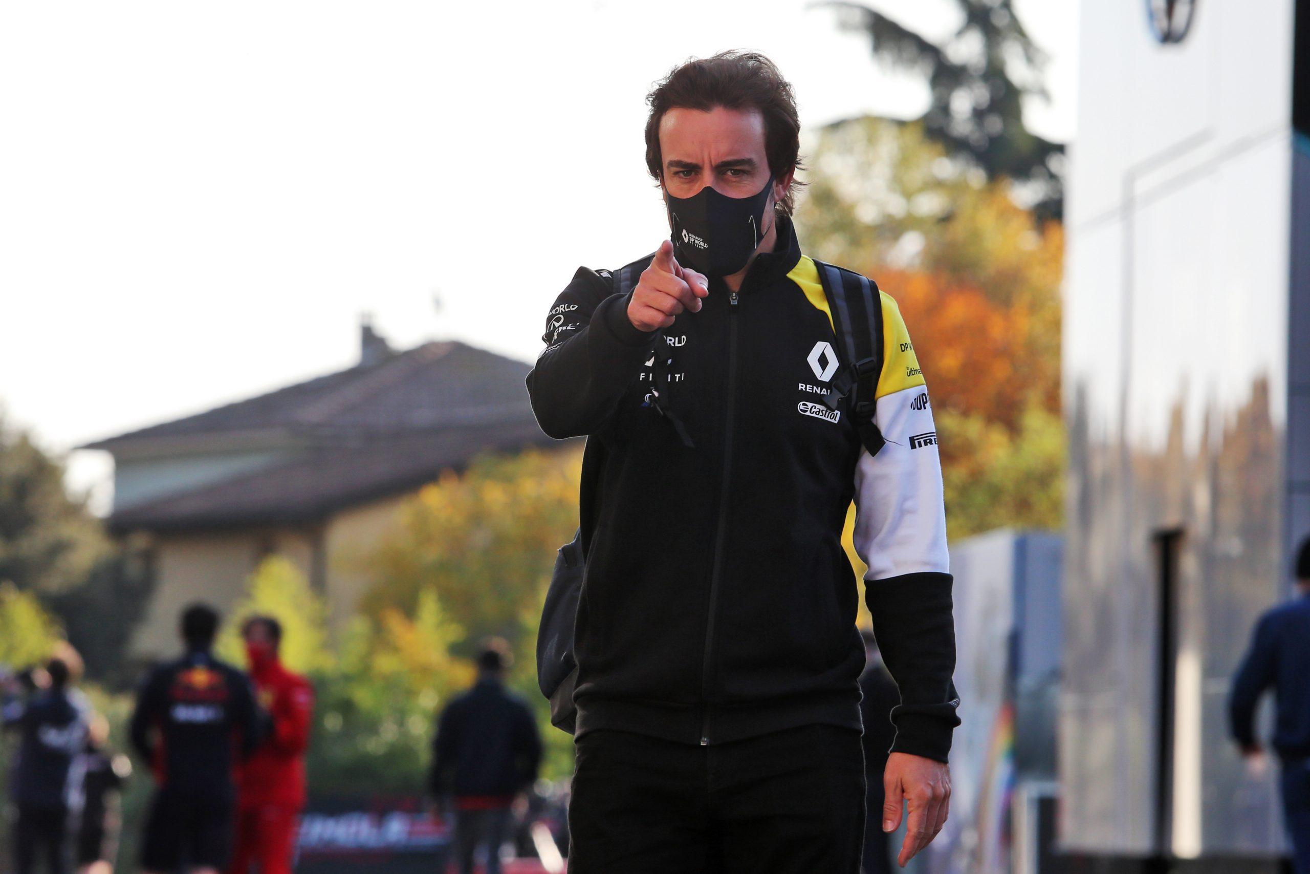 F1 - Quelques jours après son accident de vélo, Alonso poursuit son entrainement