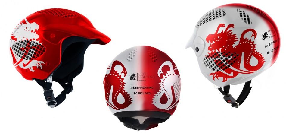F1 - La fondation Keep Fighting finance la production de 5000 casques