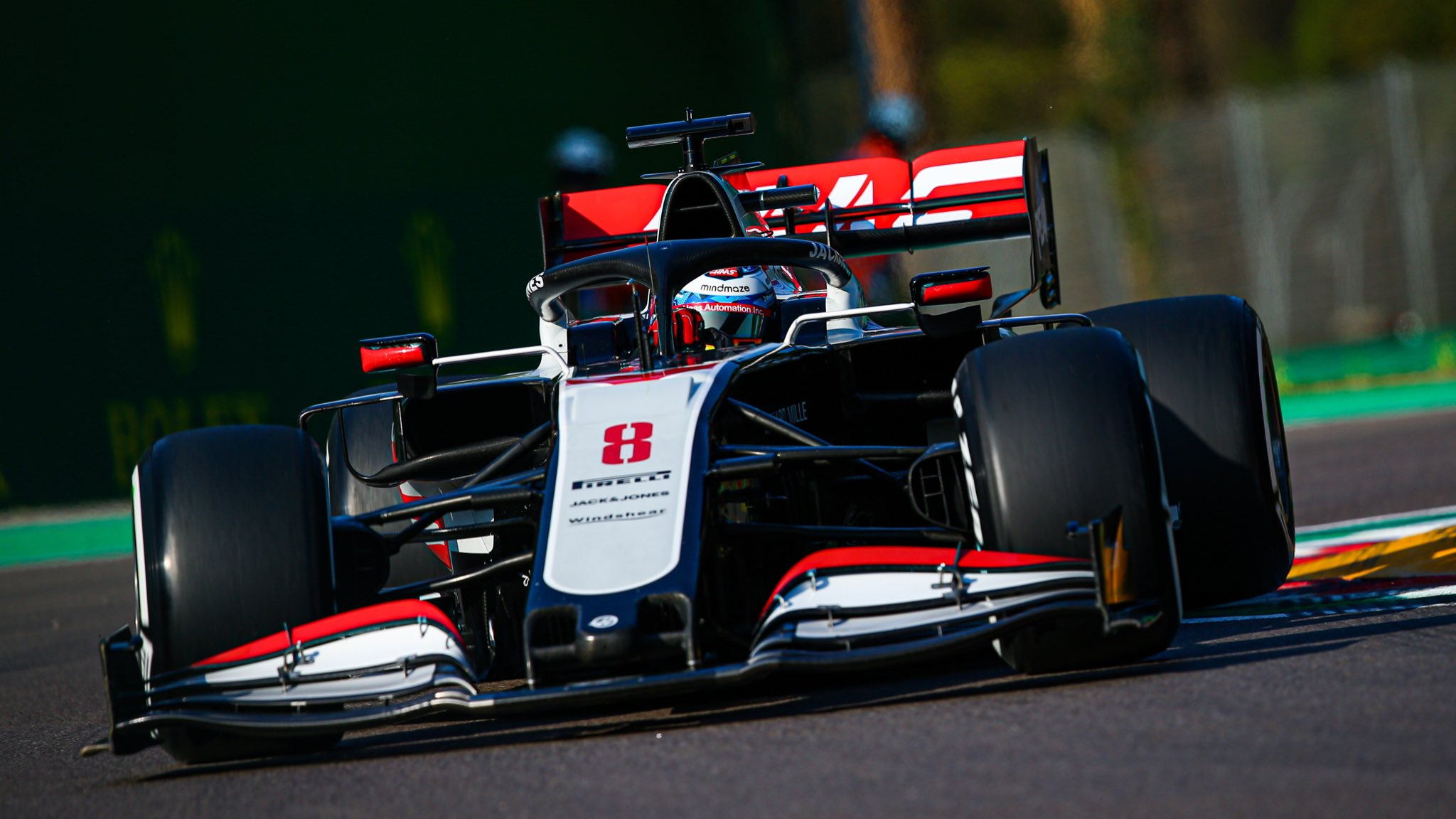 F1 - Romain Grosjean doublement pénalisé au GP d'Emilie-Romagne