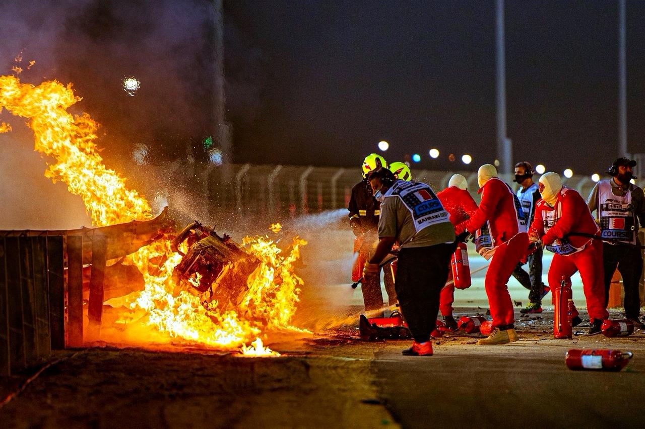 F1 - La FIA annonce une enquête de six à huit semaines sur l'accident de Romain Grosjean