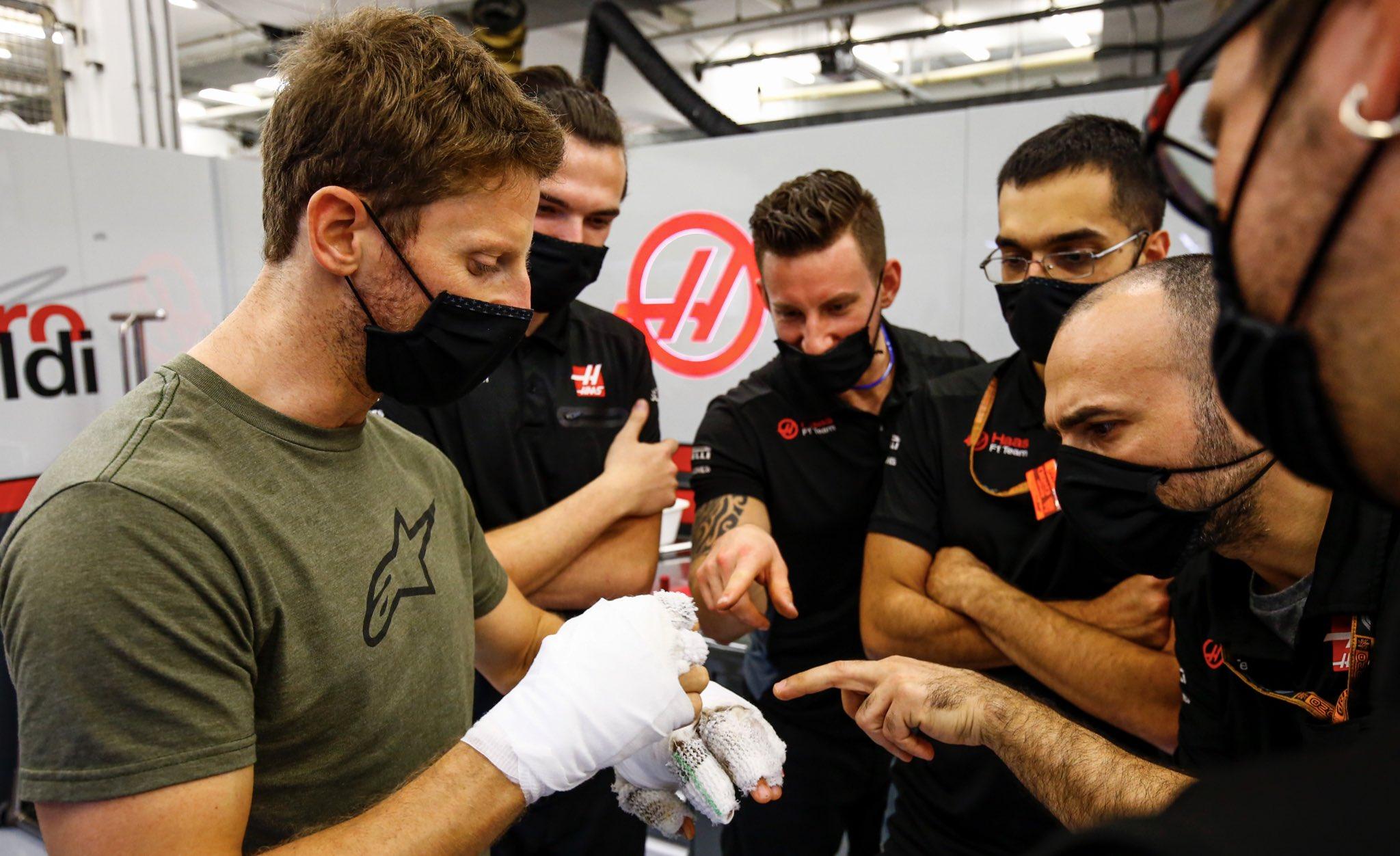 F1 - Opéré ce mardi, Romain Grosjean donne de ses nouvelles