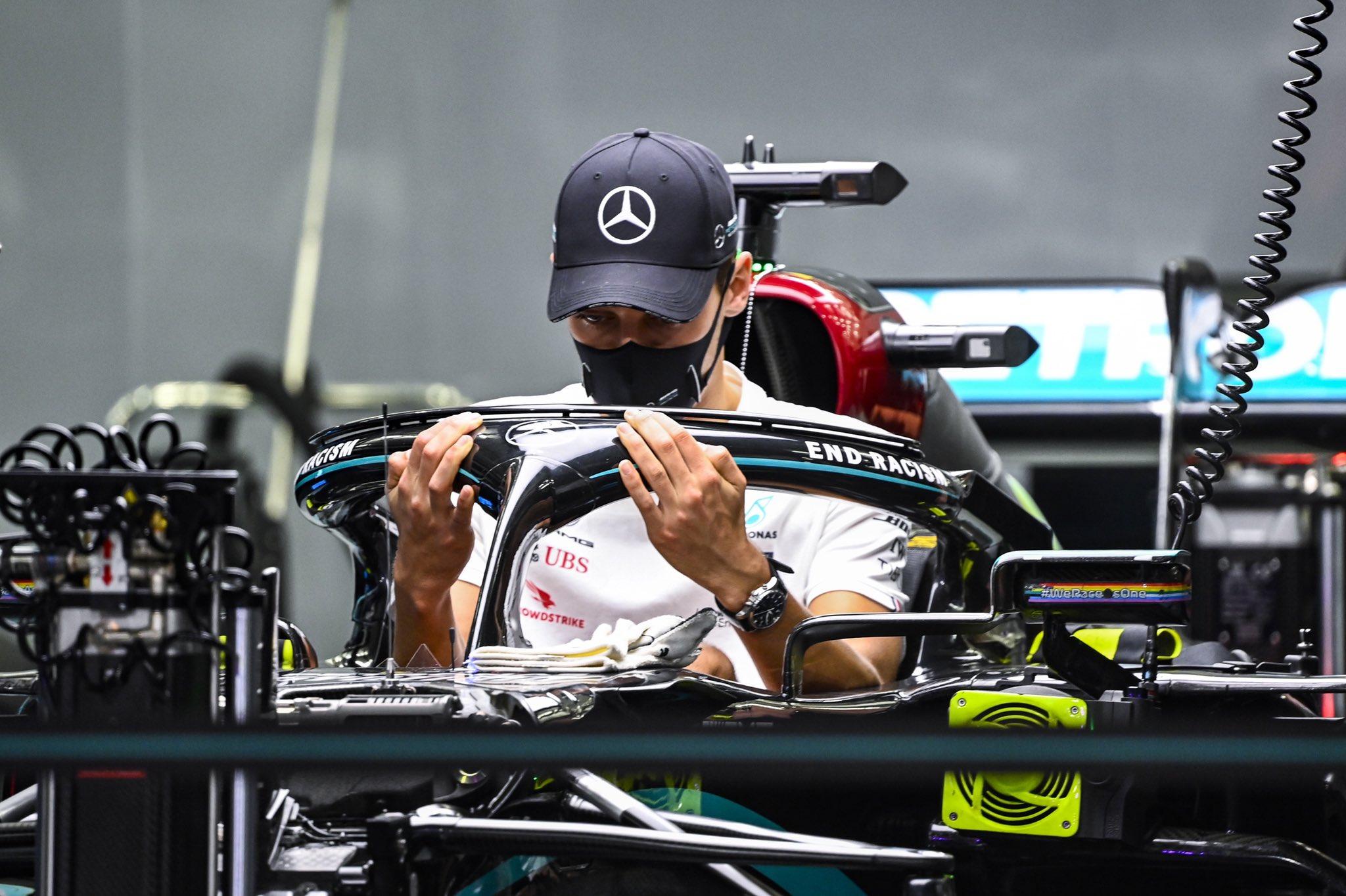 F1 - Leclerc conseille à Russell de ne pas se mettre trop de pression chez Mercedes