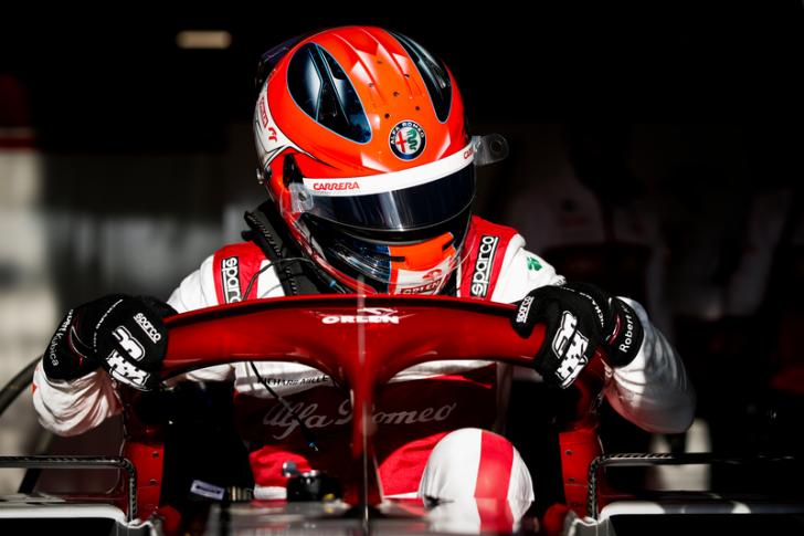 F1 - Kubica au volant de l'Alfa Romeo ce vendredi au GP de Styrie