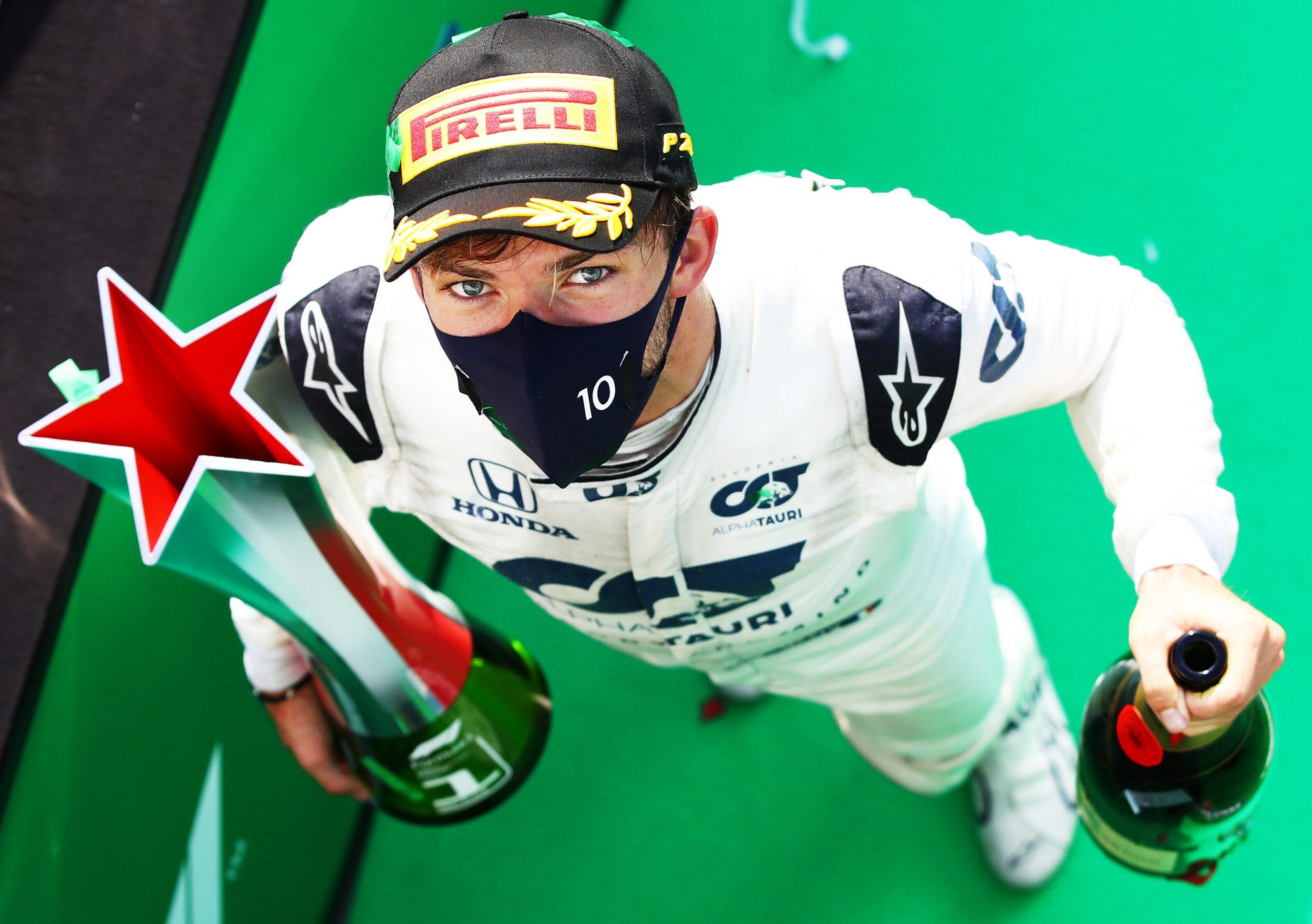 F1 - 2020 restera une année historique pour Pierre Gasly