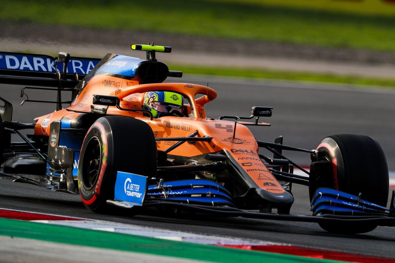 F1 - McLaren : seule équipe de F1 à devoir passer un crash test en 2021