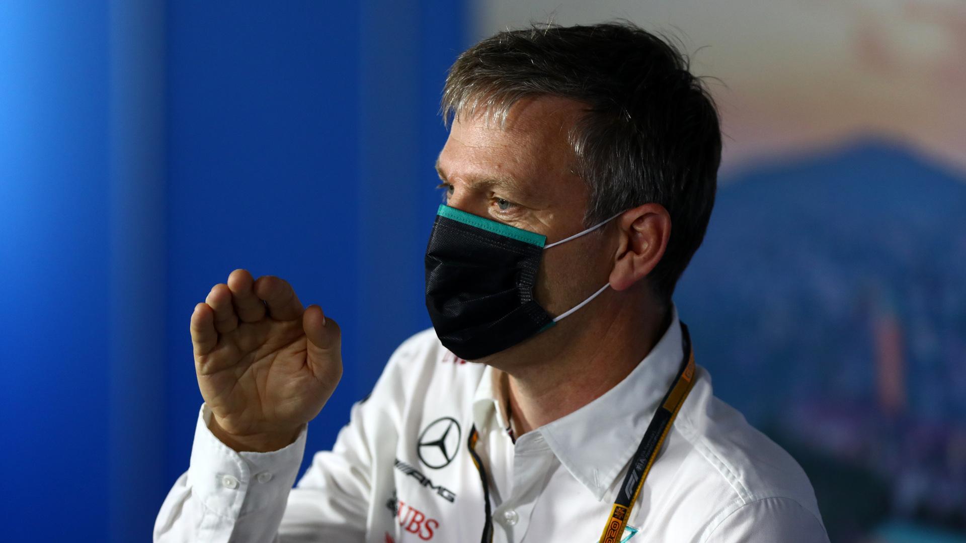 """F1 - L'hiver de l'équipe Mercedes est """"inhabituel et intense"""" selon James Allison"""