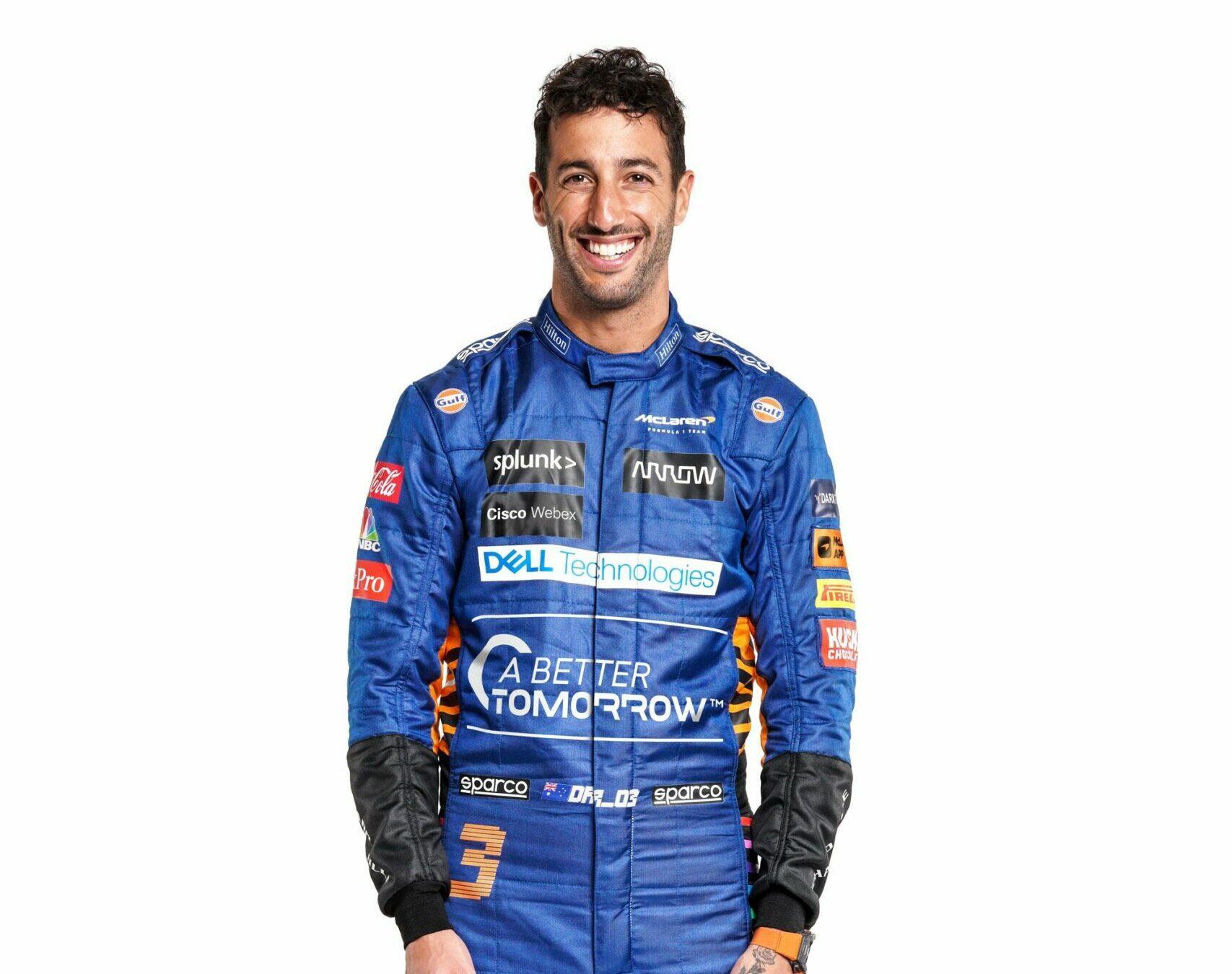 """F1 - Daniel Ricciardo prêt à """"tout donner"""" pour McLaren"""