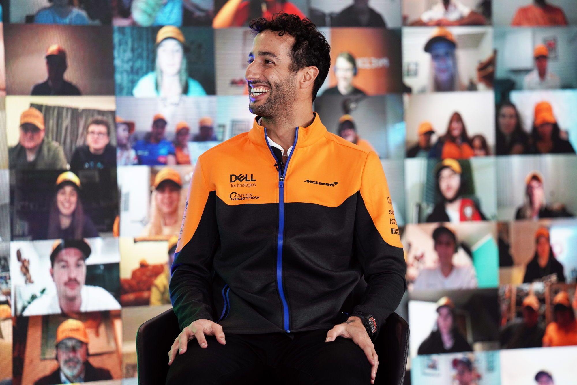 F1 - Bien que plus expérimenté, Ricciardo voudra apprendre de Norris chez McLaren