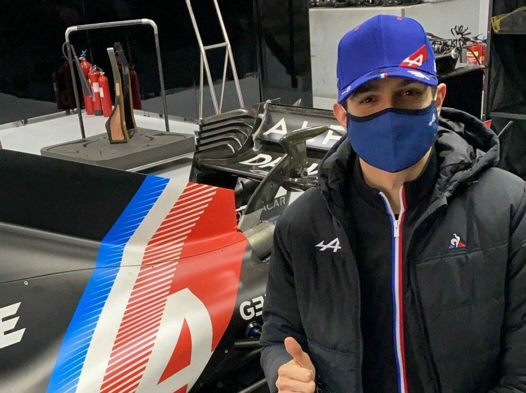 F1 - Esteban Ocon en test avec Alpine F1 au Paul Ricard