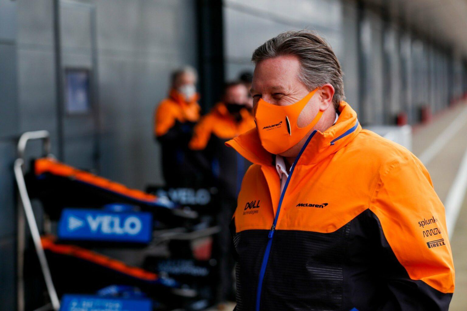 F1 - Le PDG de McLaren s'attend à une équipe Aston Martin compétitive