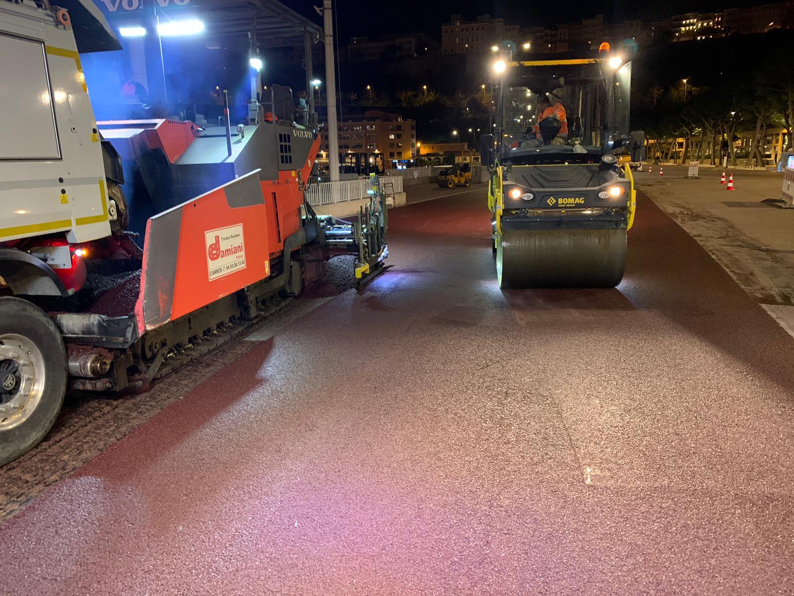 F1 - La voie des stands du circuit de Monaco fait peau neuve