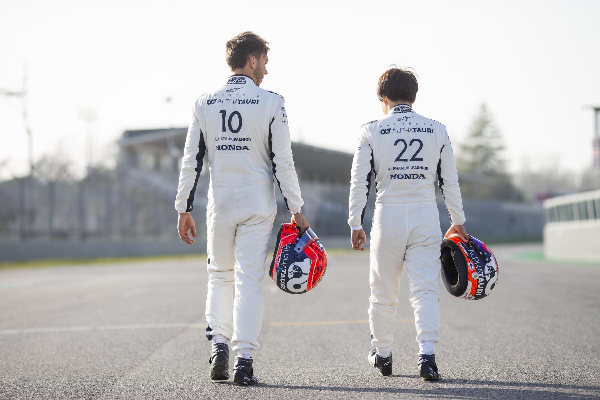 F1 - Officiel : Gasly et Tsunoda confirmés chez AlphaTauri en 2022