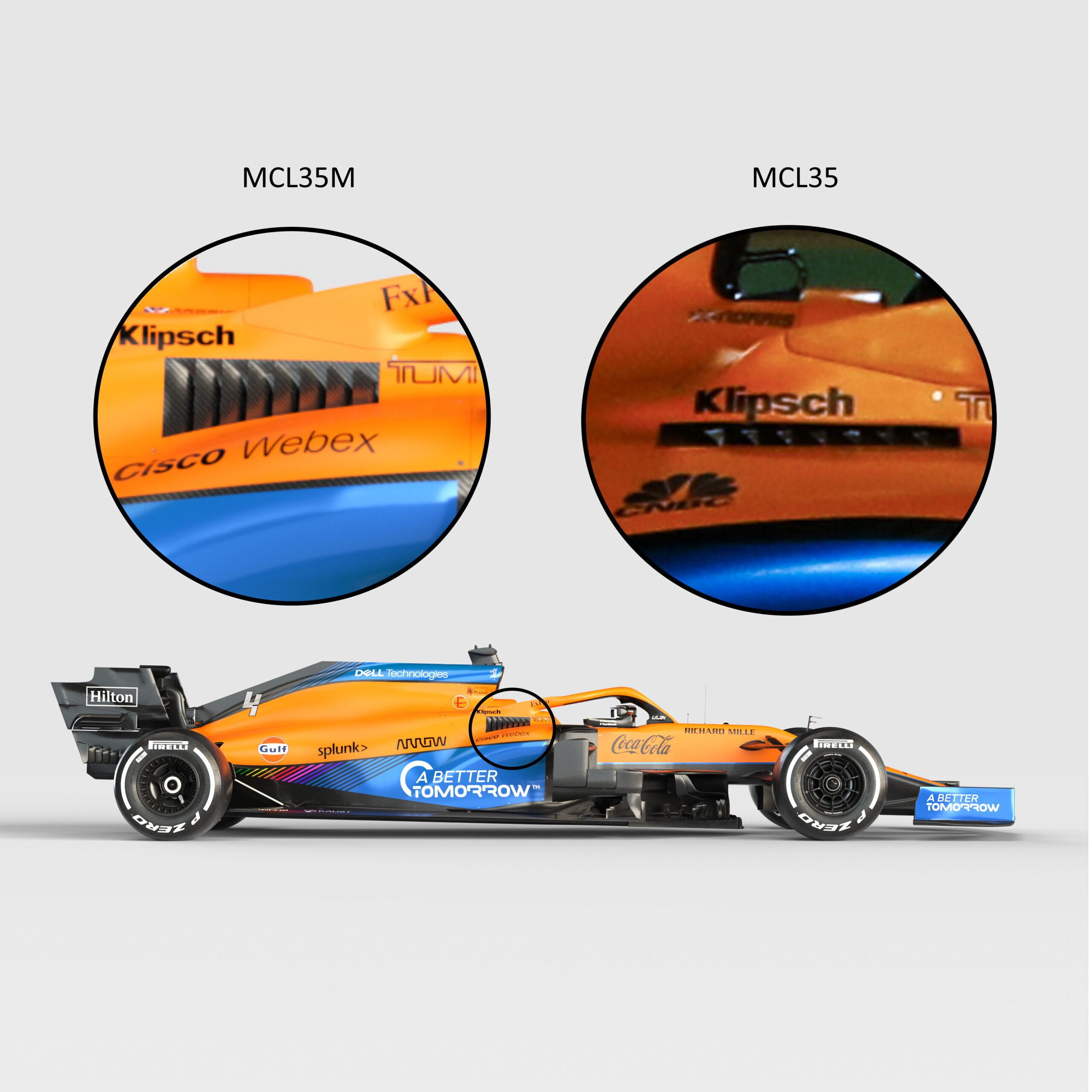 F1 - Tech F1: la McLaren MCL35M à la loupe