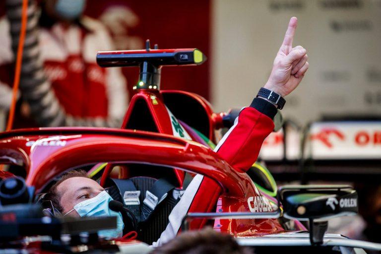 F1 - Alfa Romeo a démarré son moteur Ferrari 2021