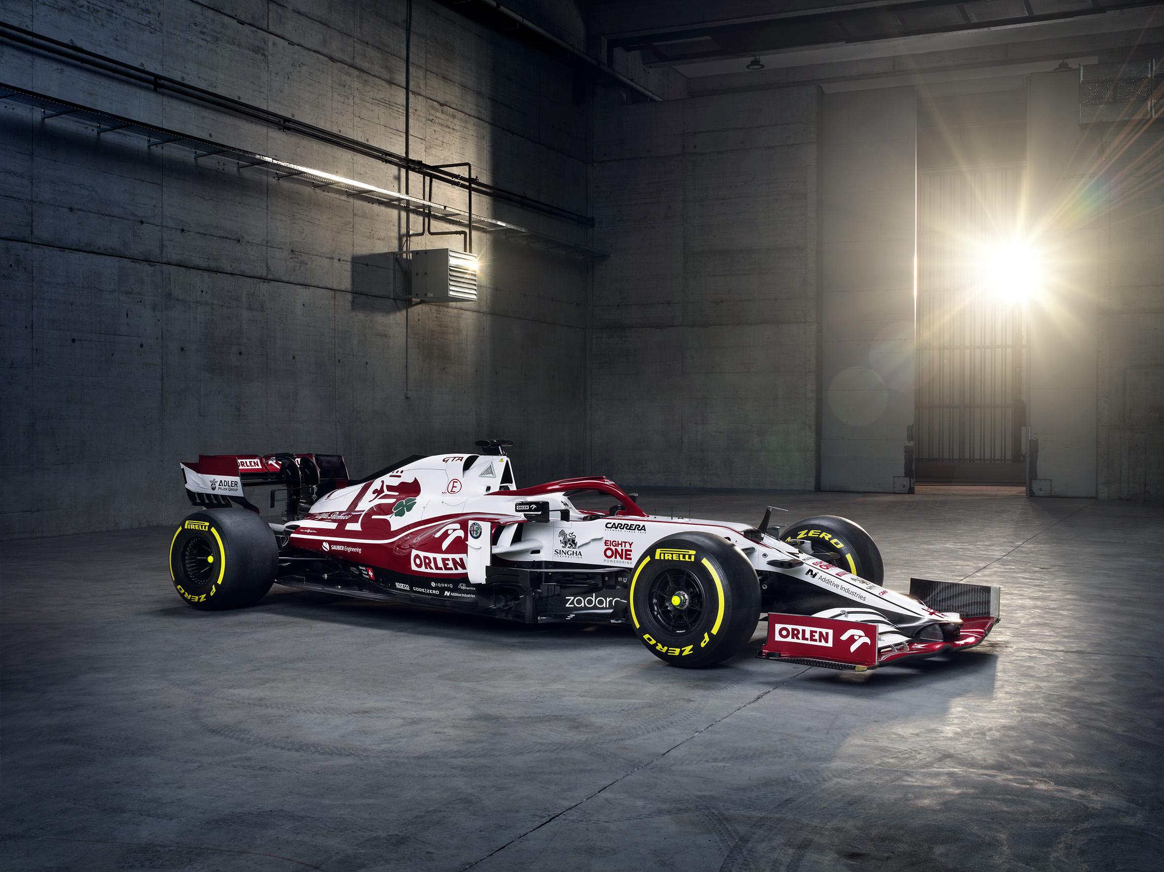 F1 - Technique F1 : l'Alfa Romeo C41 à la loupe