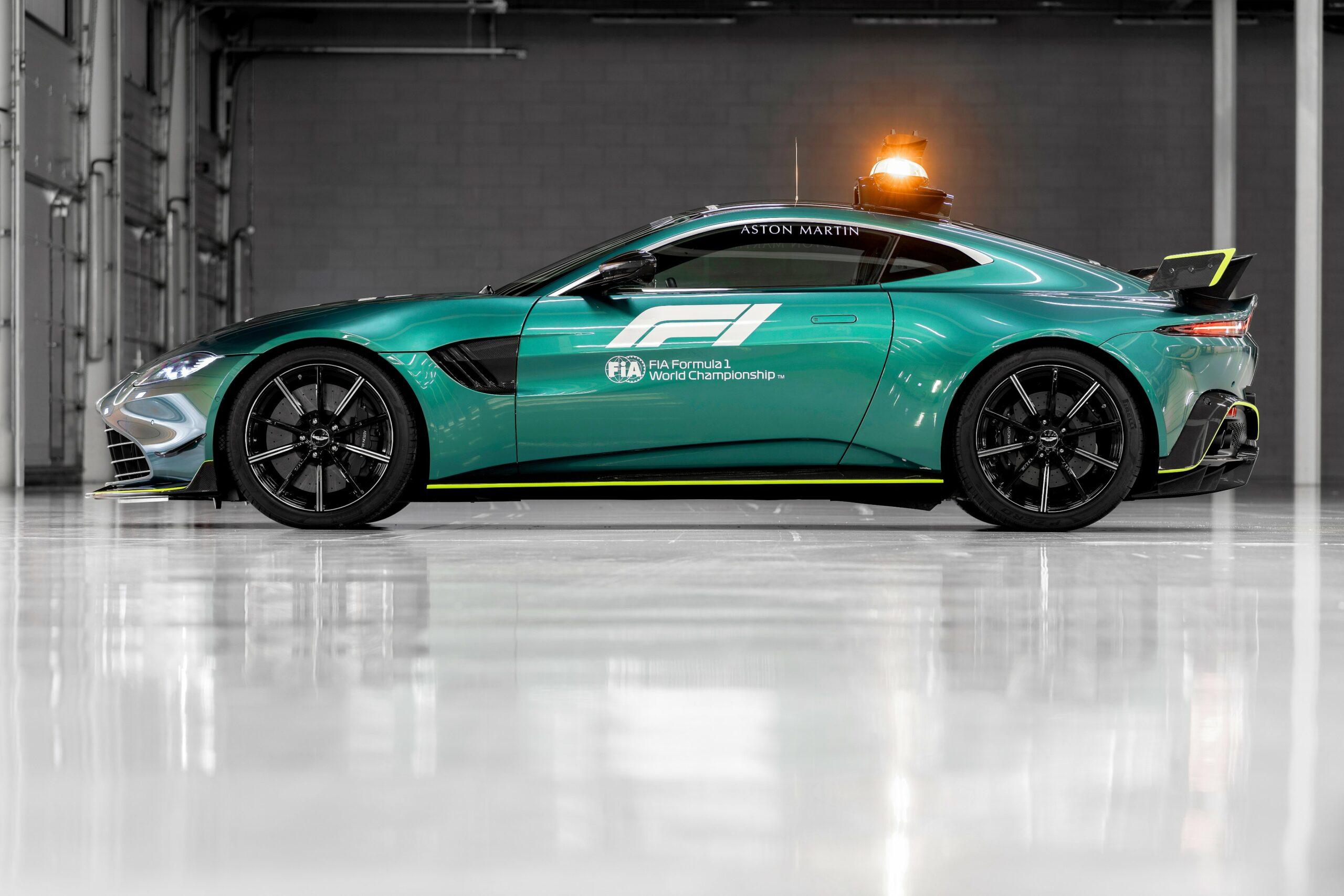 F1 - Aston Martin et Mercedes fourniront la Safety Car à la F1