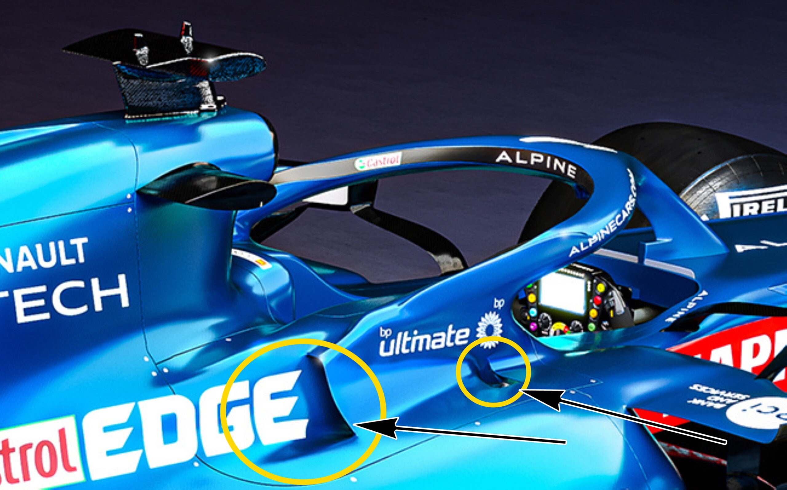 F1 - Technique F1 : l'Alpine A521 à la loupe