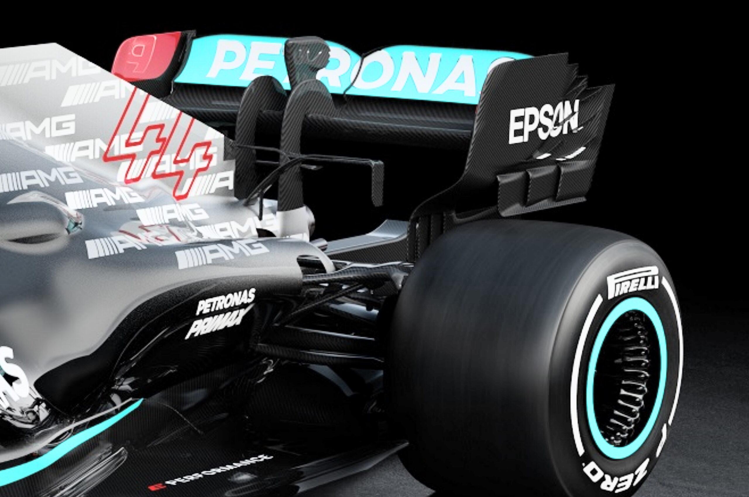 F1 - Technique F1 : ce que Mercedes a bien voulu nous montrer sur la W12
