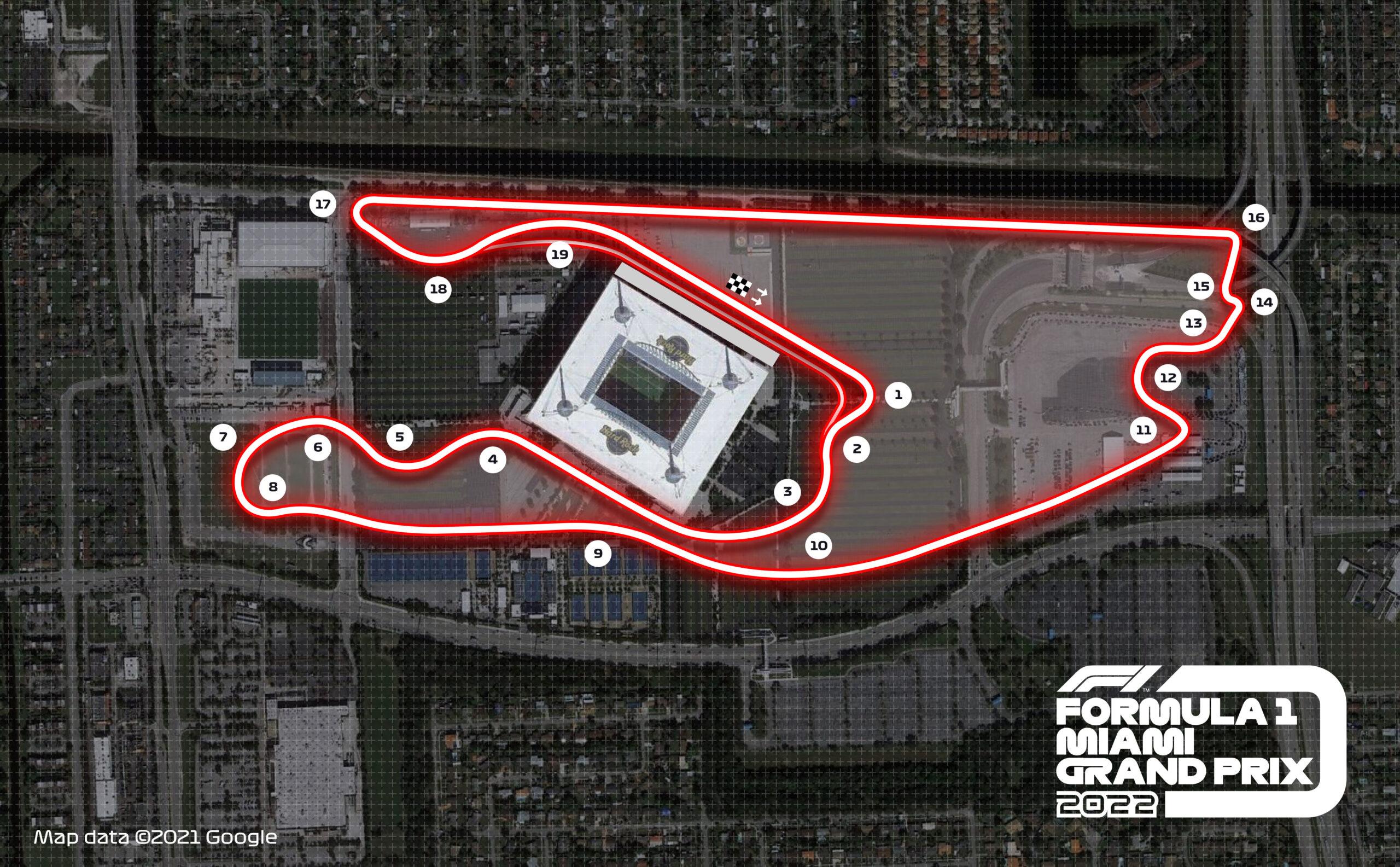 Calendrier Gp F1 2022 F1   Officiel : Miami inscrit au calendrier de la F1 en 2022