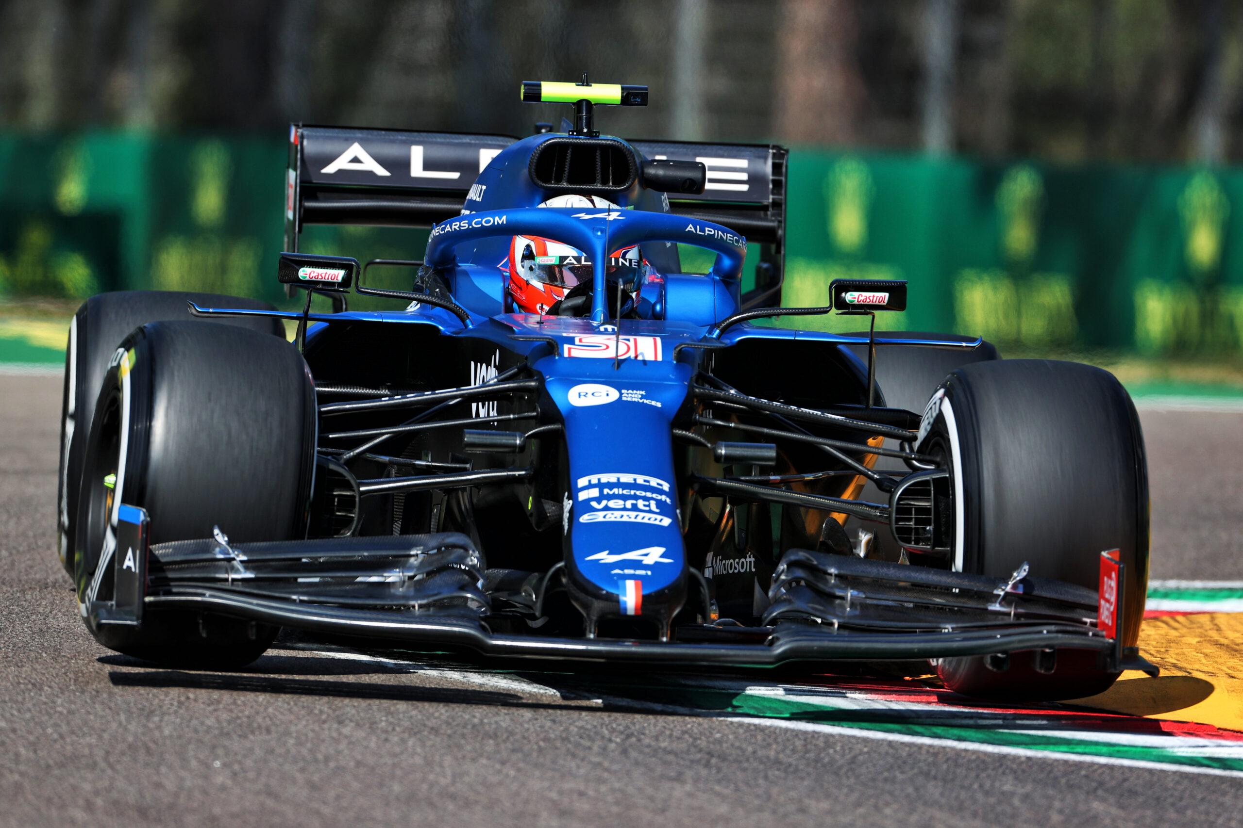F1 - Alpine a connu un vendredi productif malgré un incident impliquant Ocon