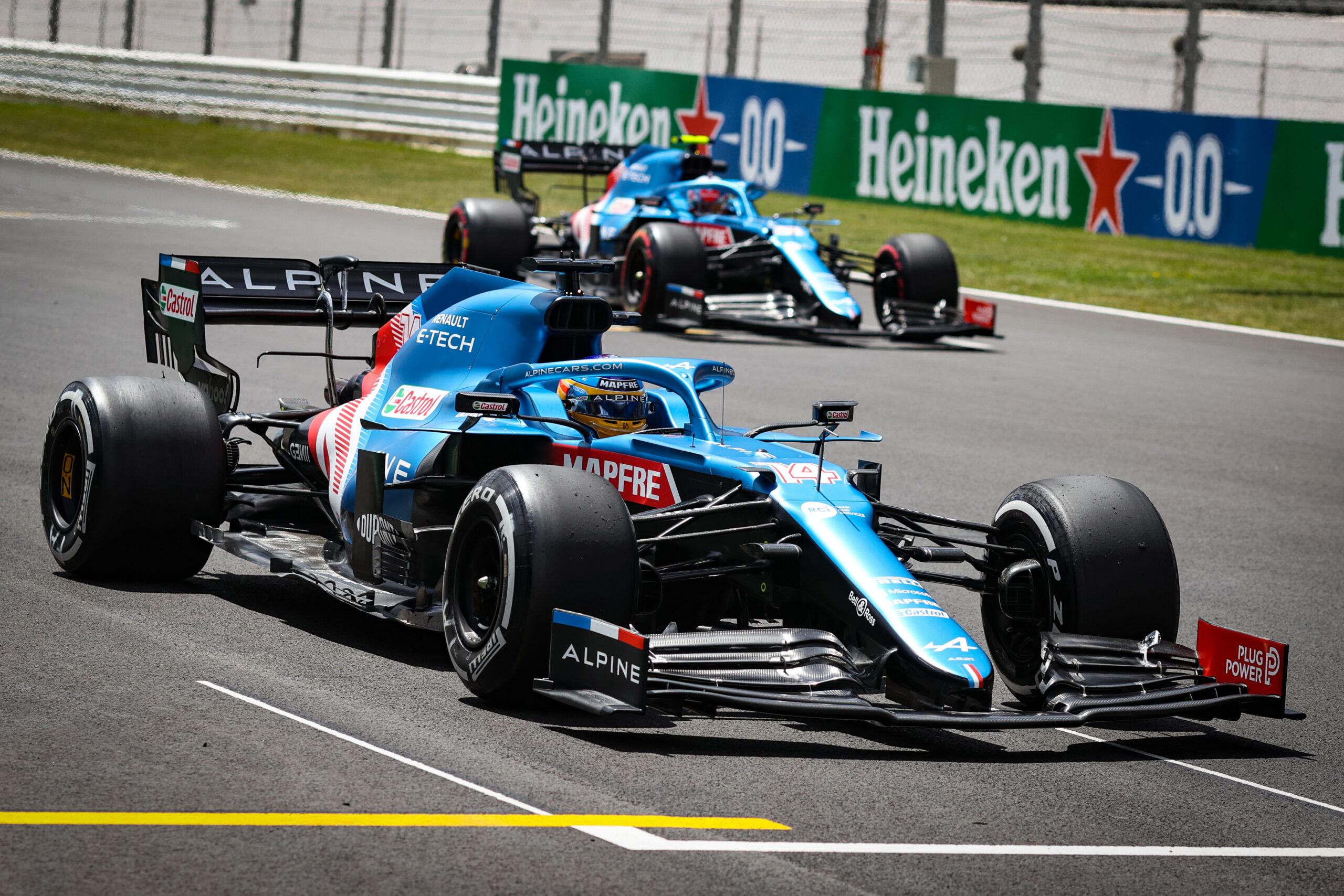 F1 - Les deux Alpine dans le top six ce vendredi au Portugal
