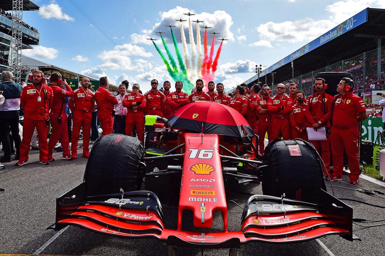 F1 - Les Frecce Tricolori survoleront Imola ce dimanche