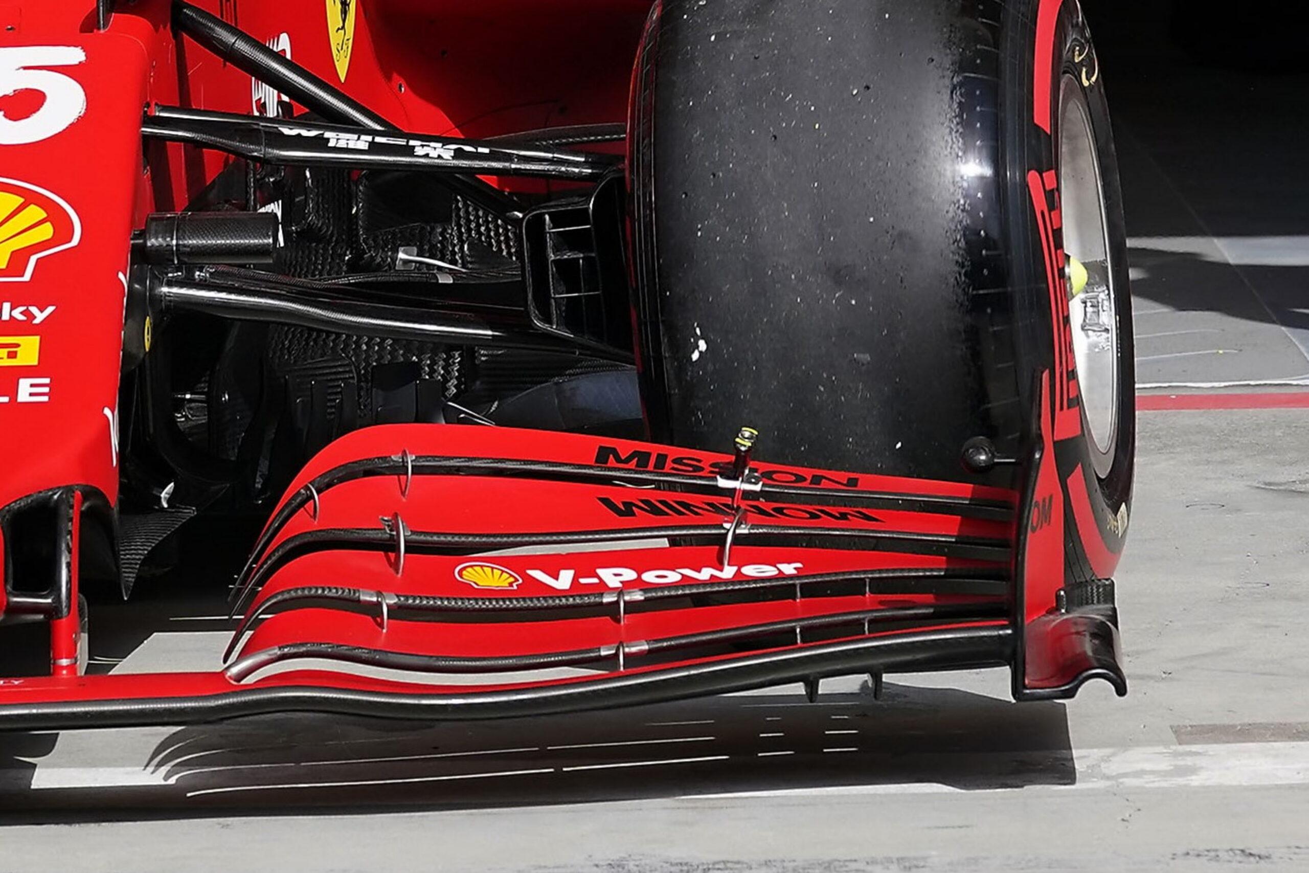 F1 - Tech F1 : les solutions techniques introduites sur la Ferrari à Imola