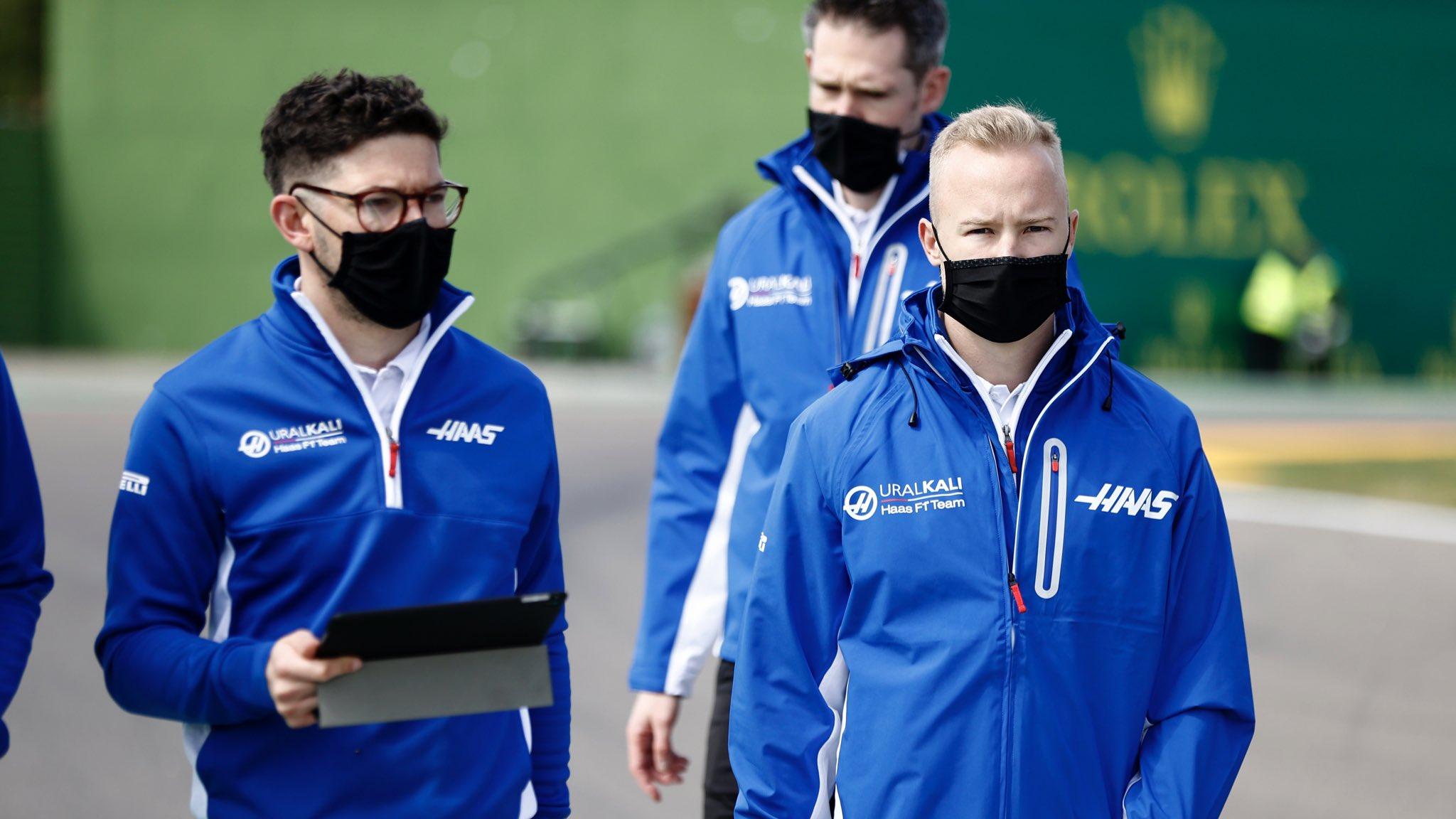 F1 - Nikita Mazepin a tourné la page après son crash au GP de Bahreïn