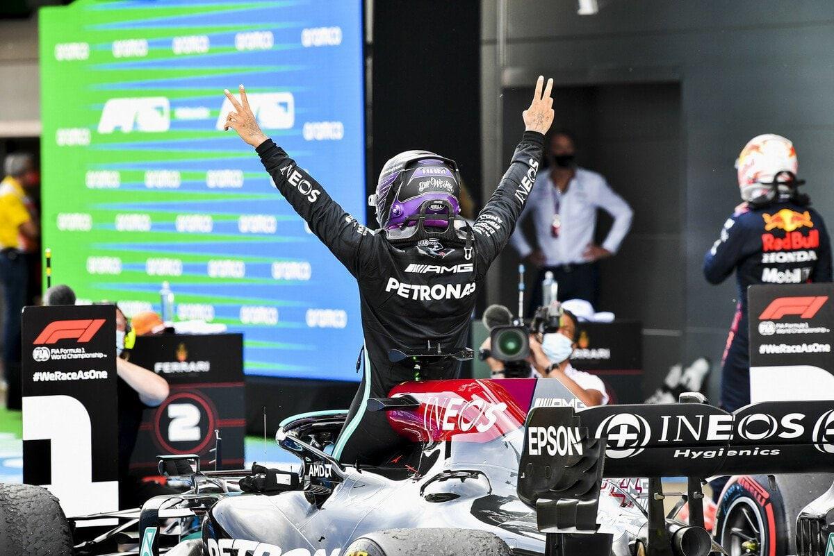 """F1 - Lewis Hamilton élu """"pilote du jour"""" au Grand Prix d'Espagne 2021"""