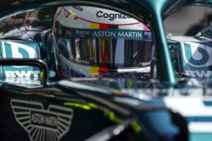 Vettel enchanté par les nouveautés introduites sur son Aston Martin