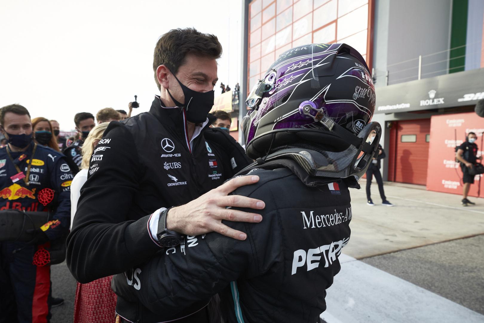 F1 - Wolff envisage de mettre un petit coup de pression à Hamilton pour discuter contrat