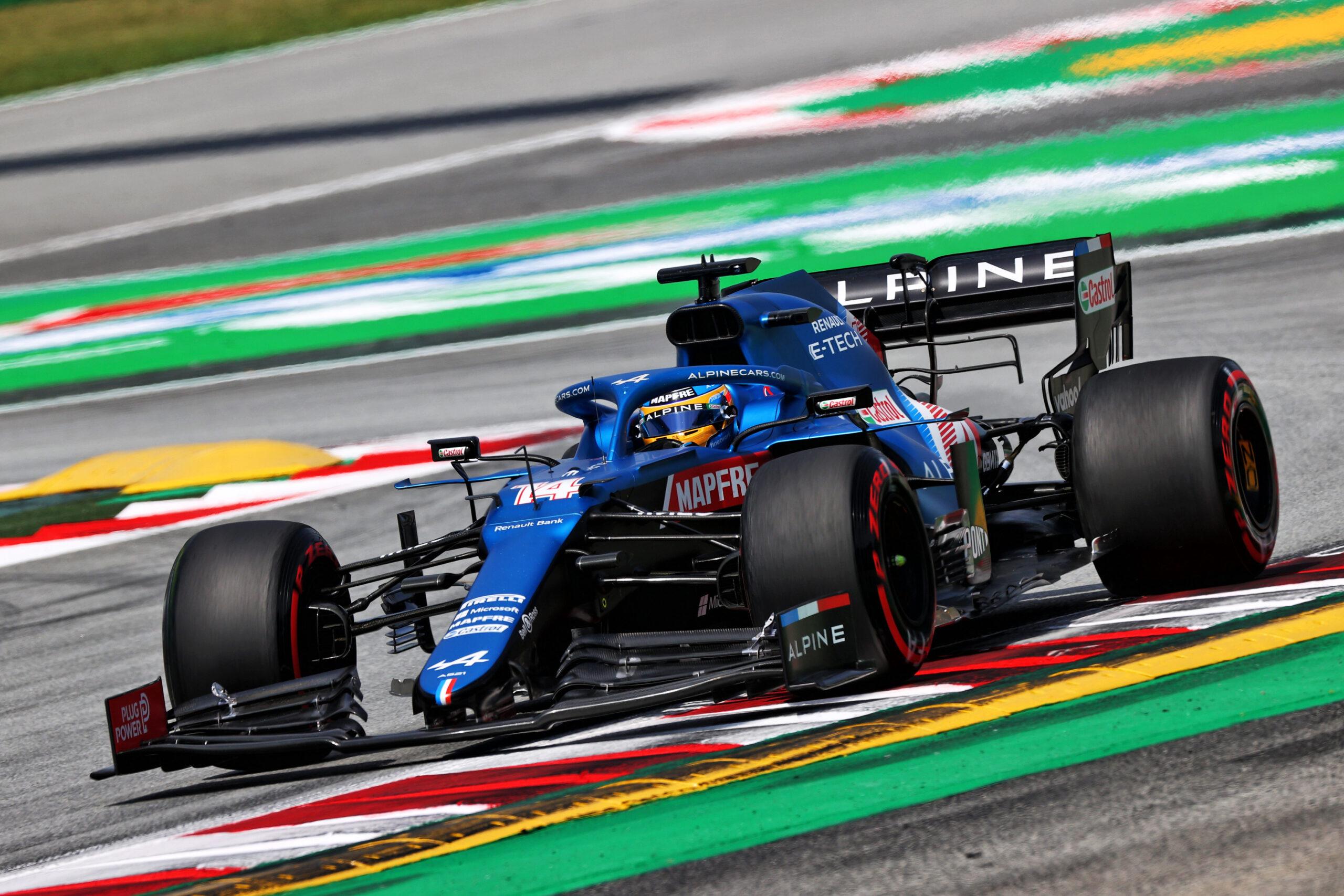 F1 - Alpine place ses deux F1 dans le top dix sur la grille à Barcelone