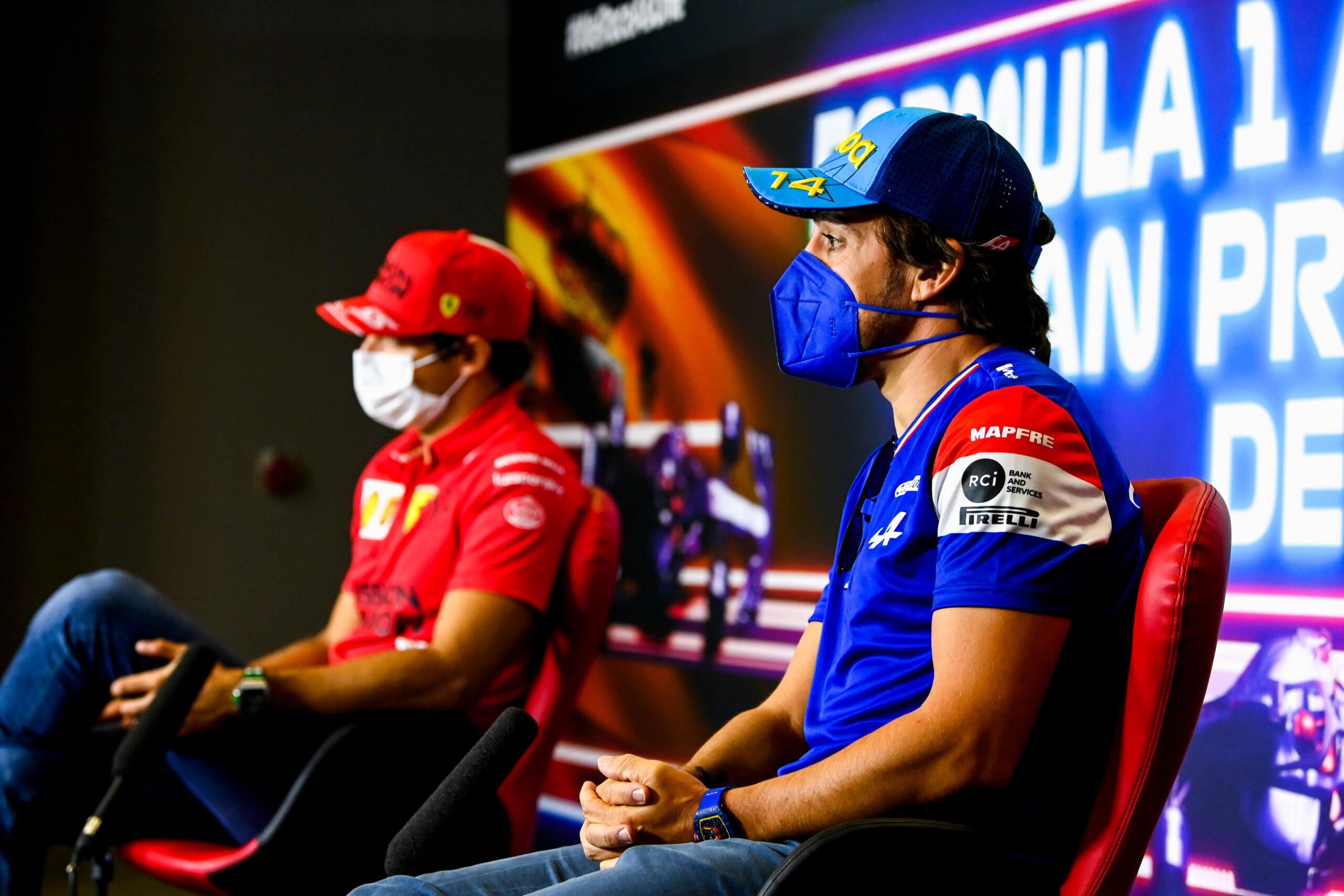 F1 - Alonso et Sainz regrettent l'absence de fans pour leur course à domicile