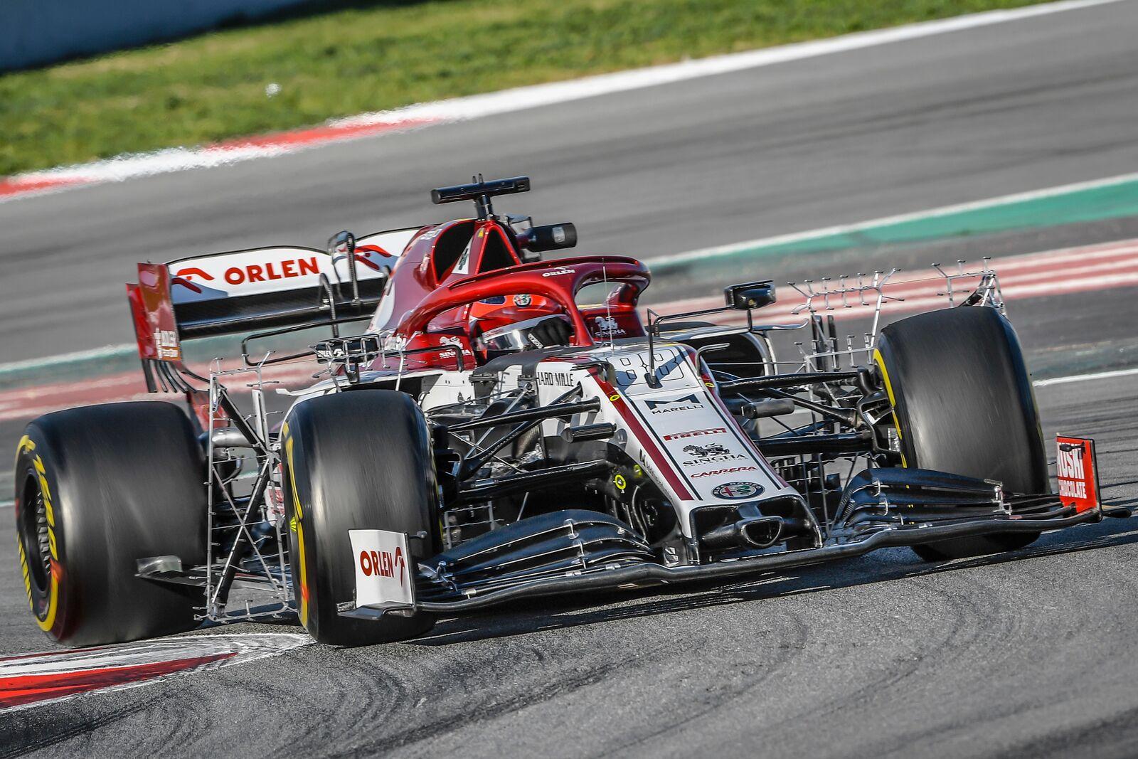 F1 - Robert Kubica de retour au volant de l'Alfa Romeo à Barcelone