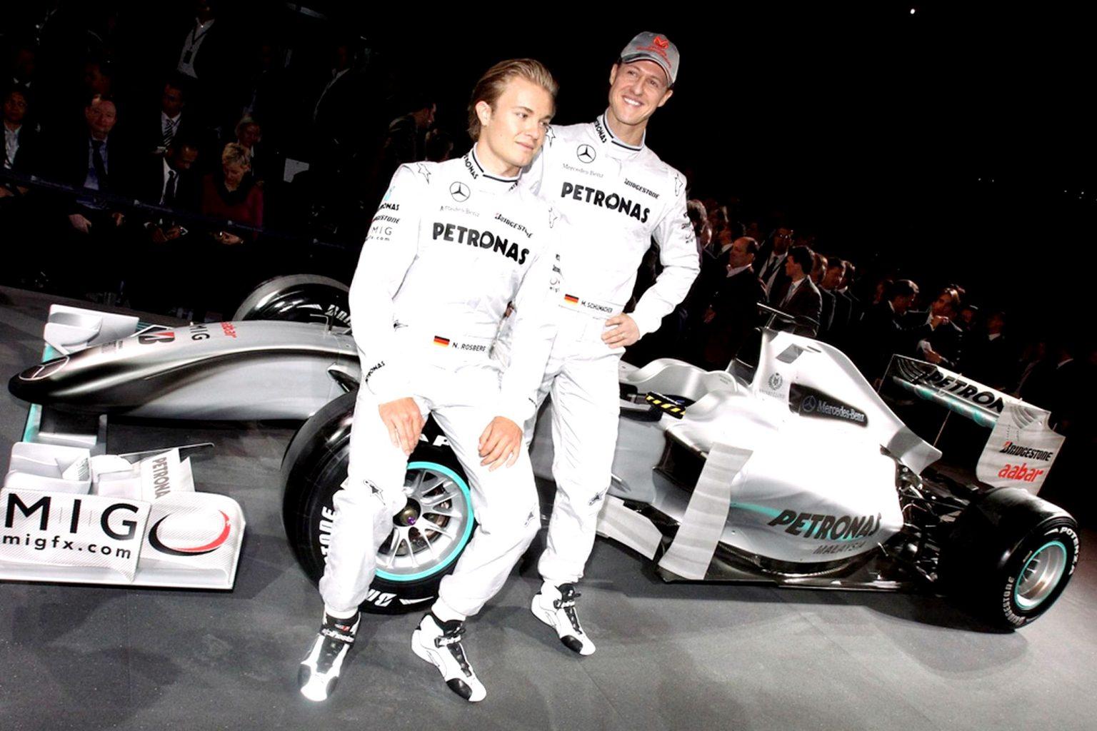 F1 - Rosberg nous explique les différences constatées entre Hamilton et Schumacher chez Mercedes