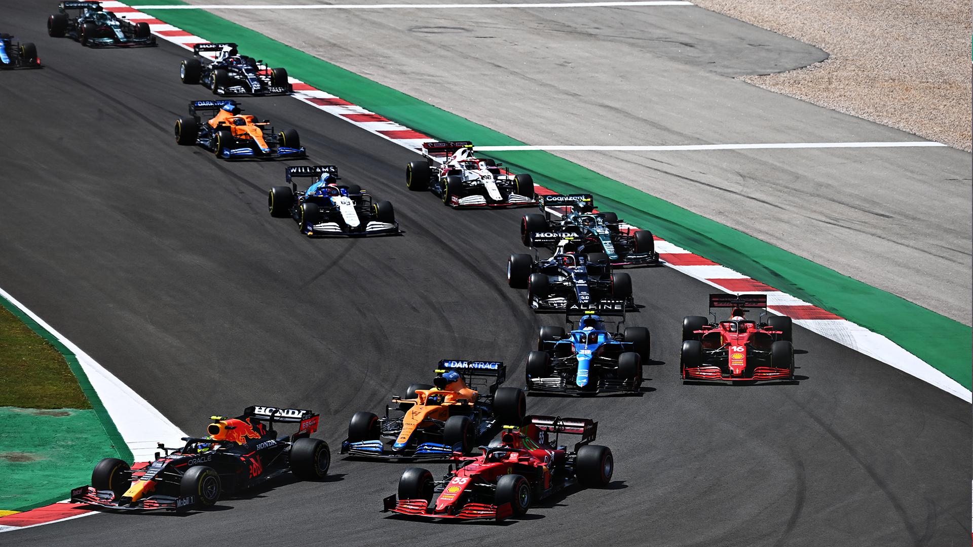 F1 - Les résultats définitifs du Grand Prix F1 du Portugal 2021