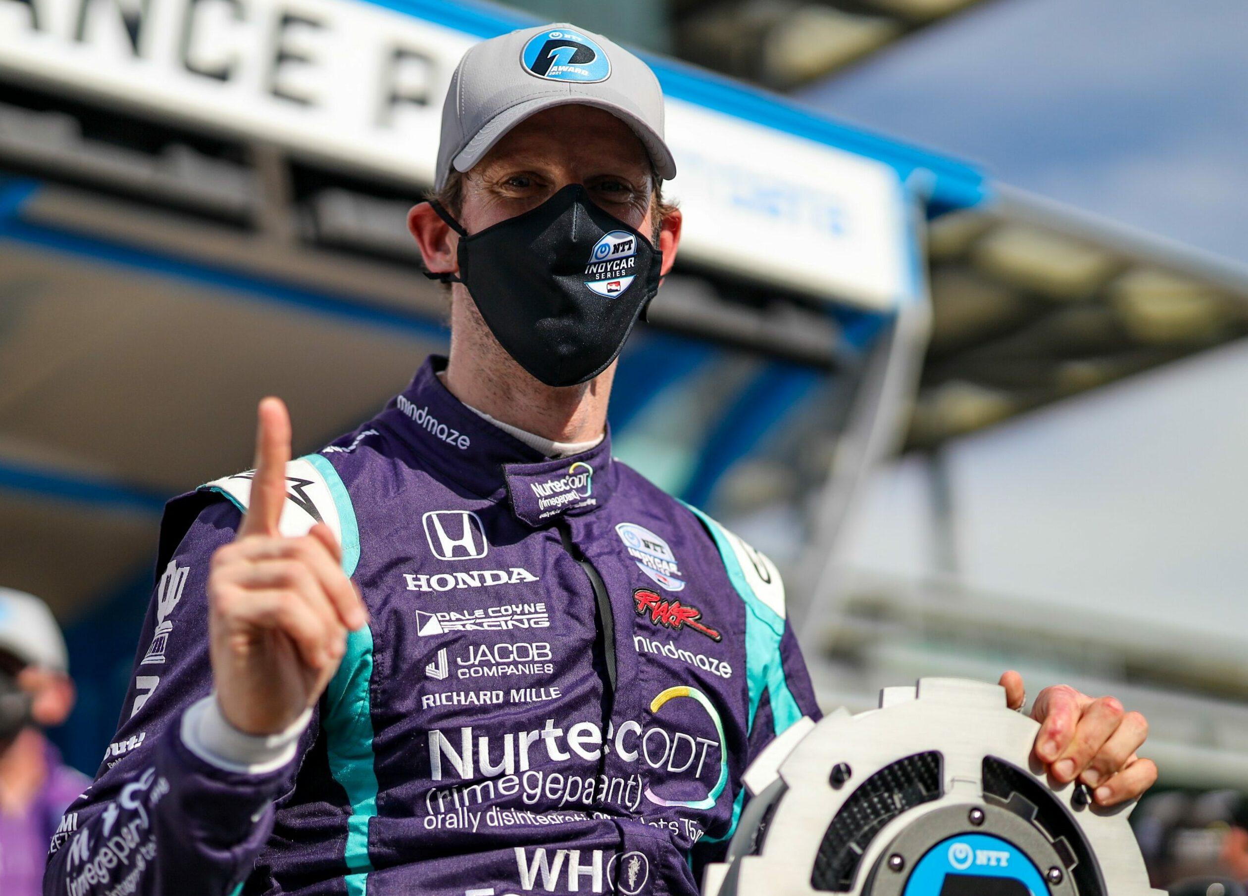 F1 - Romain Grosjean décroche sa première pole position en Indycar