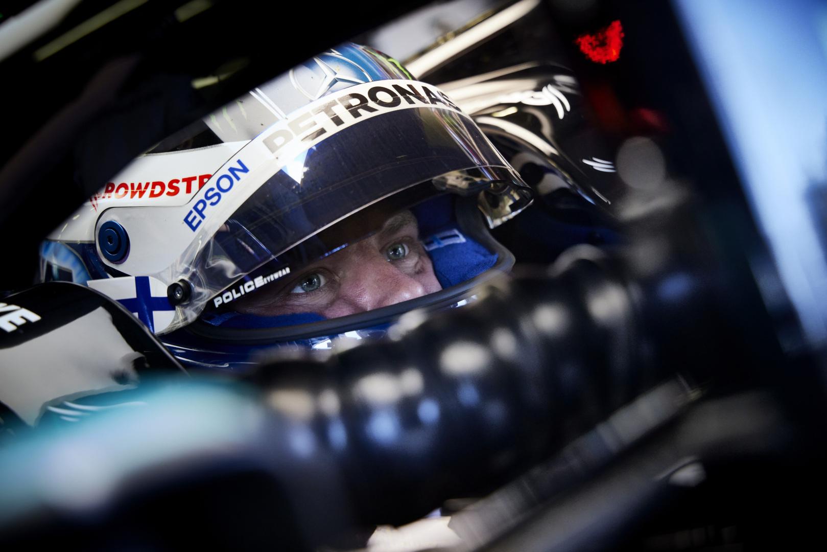 """F1 - Bottas avait l'impression d'être une """"cible facile"""" à Bakou ce dimanche"""