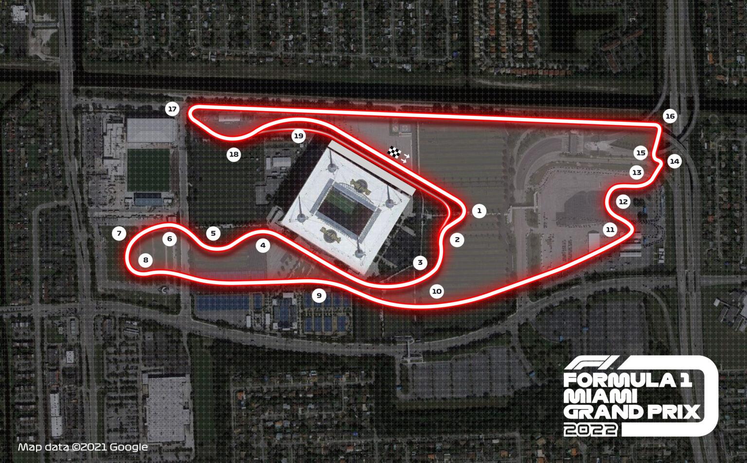 """F1 - La F1 à Miami : comme """"un Super Bowl chaque année"""""""
