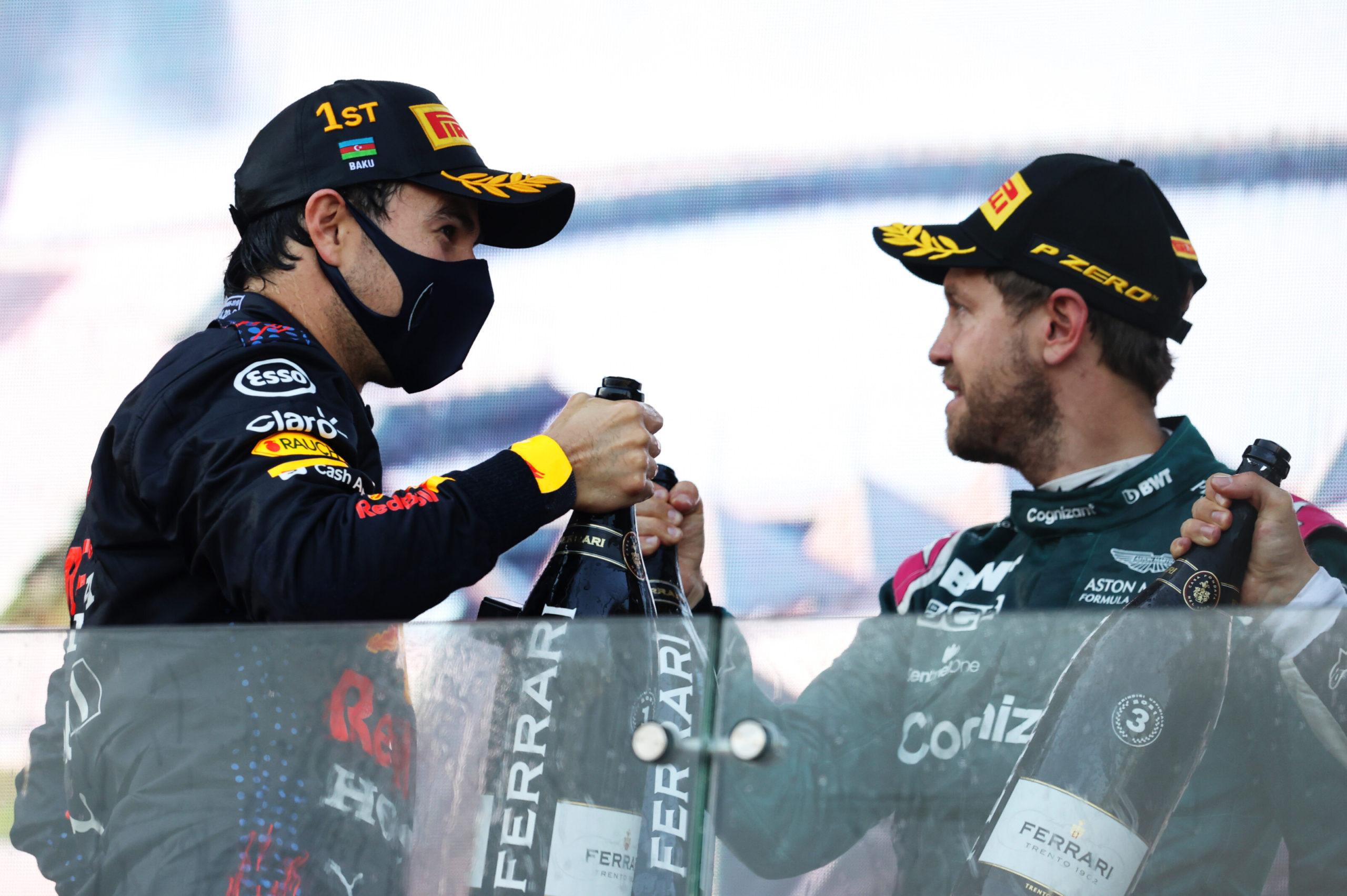 F1 - Sergio Perez a bien failli abandonner ce dimanche à Bakou
