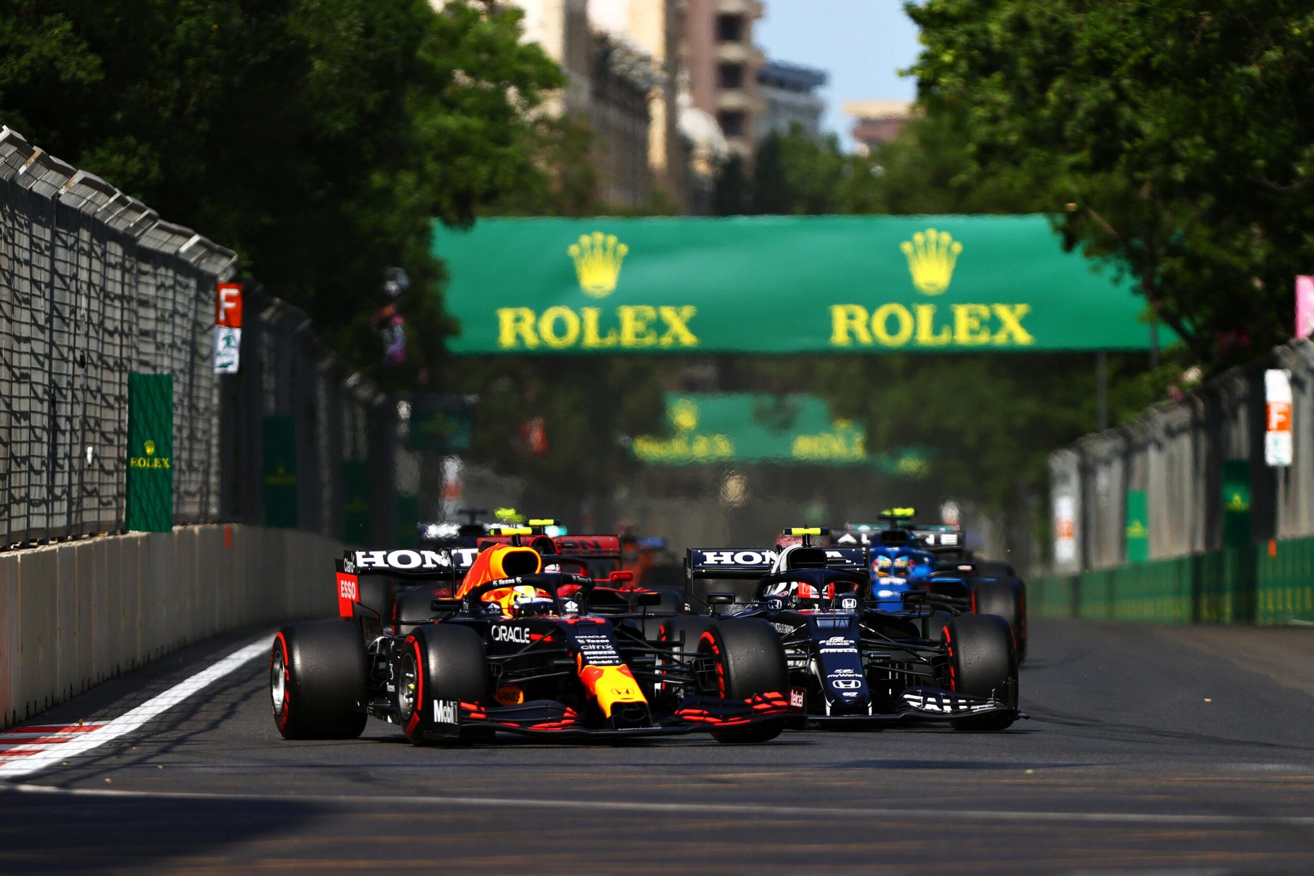 """F1 - Horner impressionné par le rythme de course """"phénoménal"""" de Perez à Bakou"""
