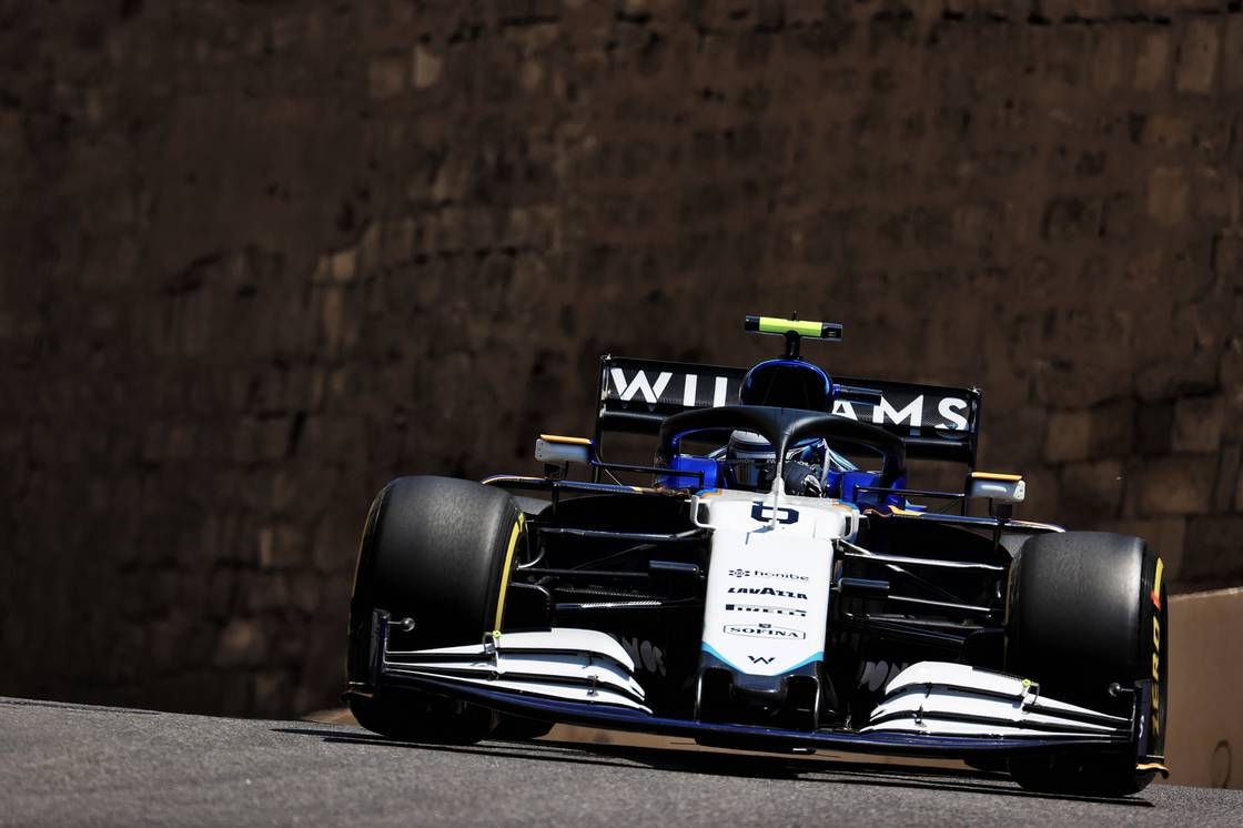 F1 - Le bloc V6 Mercedes s'est mis en sécurité sur la Williams de Latifi